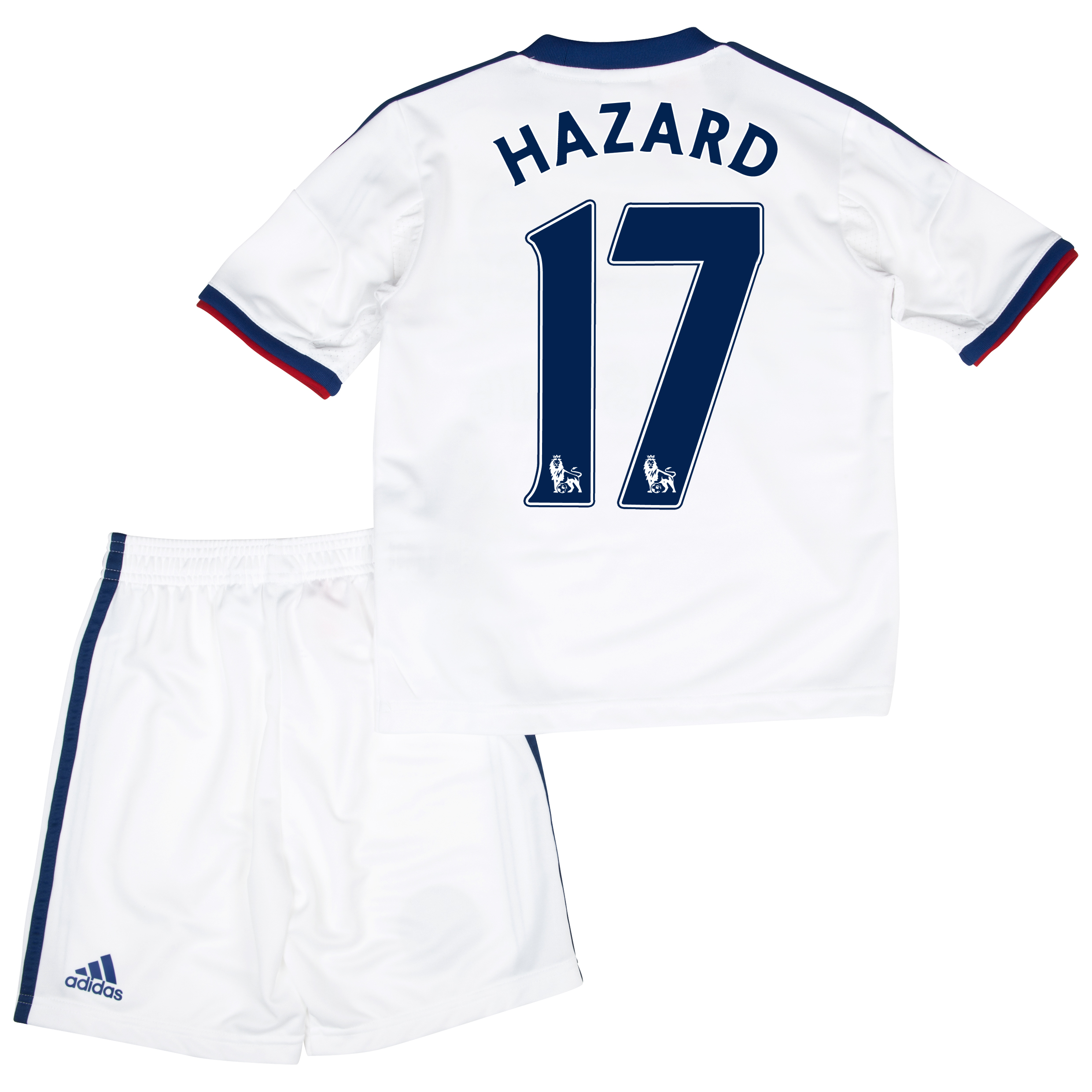 Chelsea Away Mini Kit 2013/14 with Hazard 17 printing