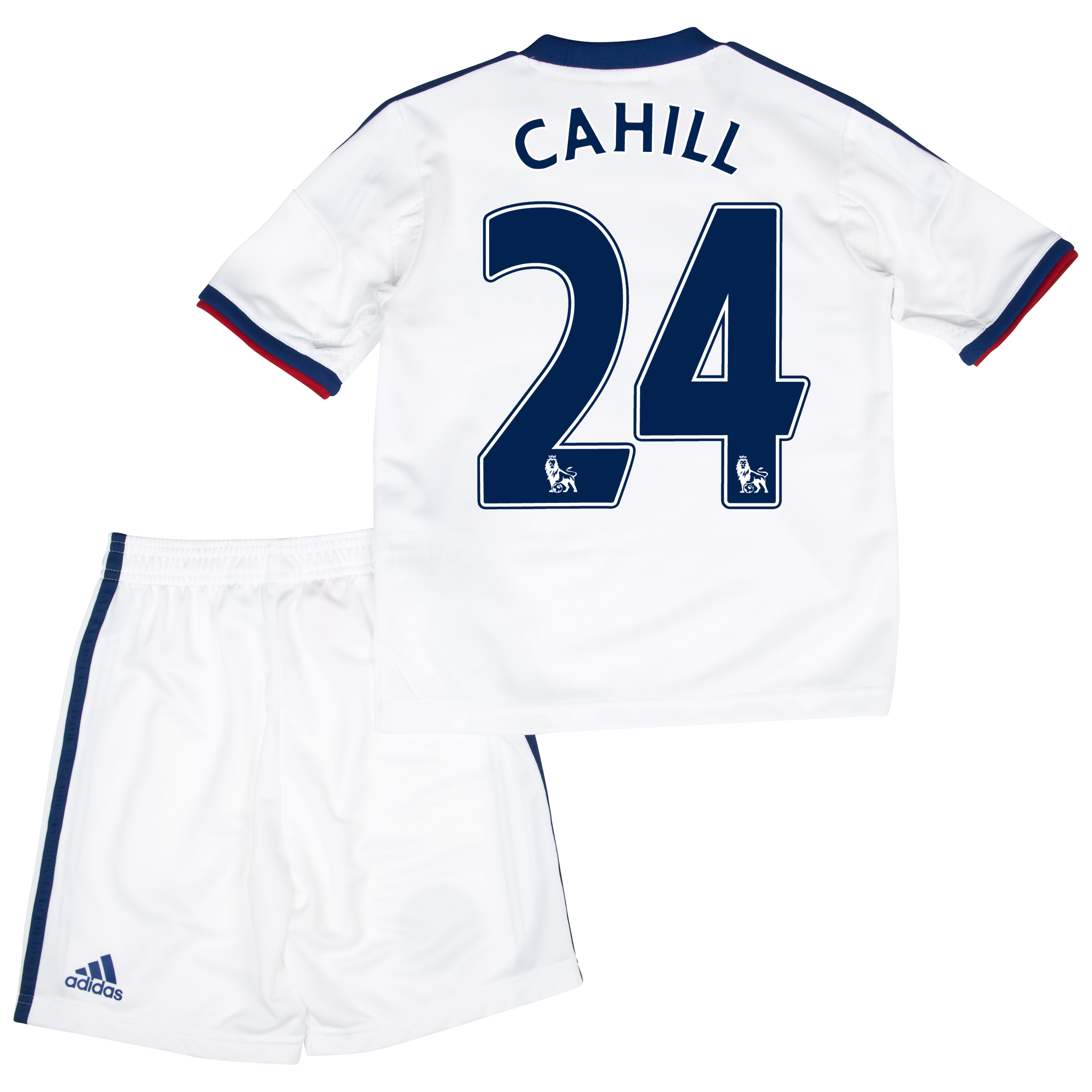 Chelsea Away Mini Kit 2013/14 with Cahill 24 printing