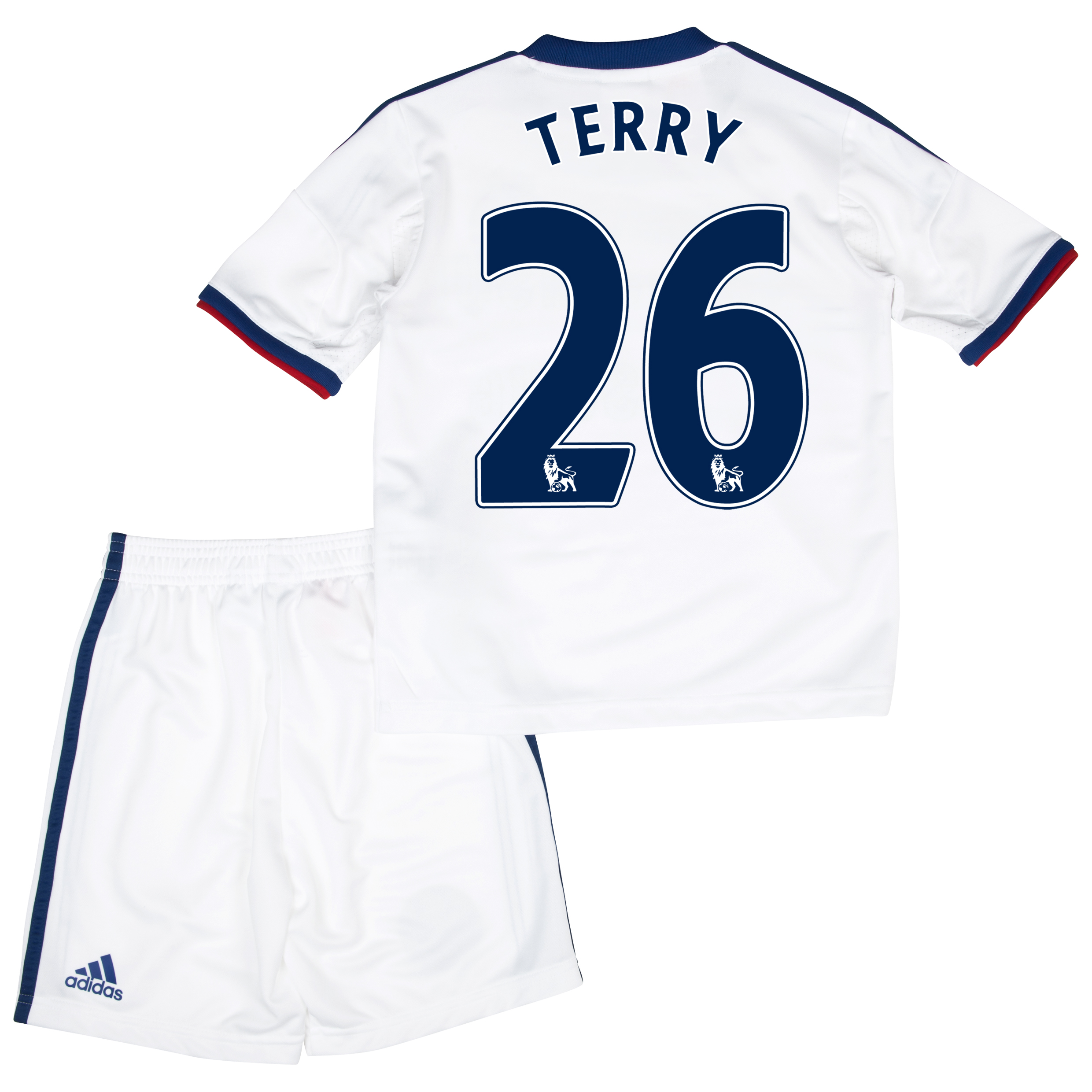 Chelsea Away Mini Kit 2013/14 with Terry 26 printing