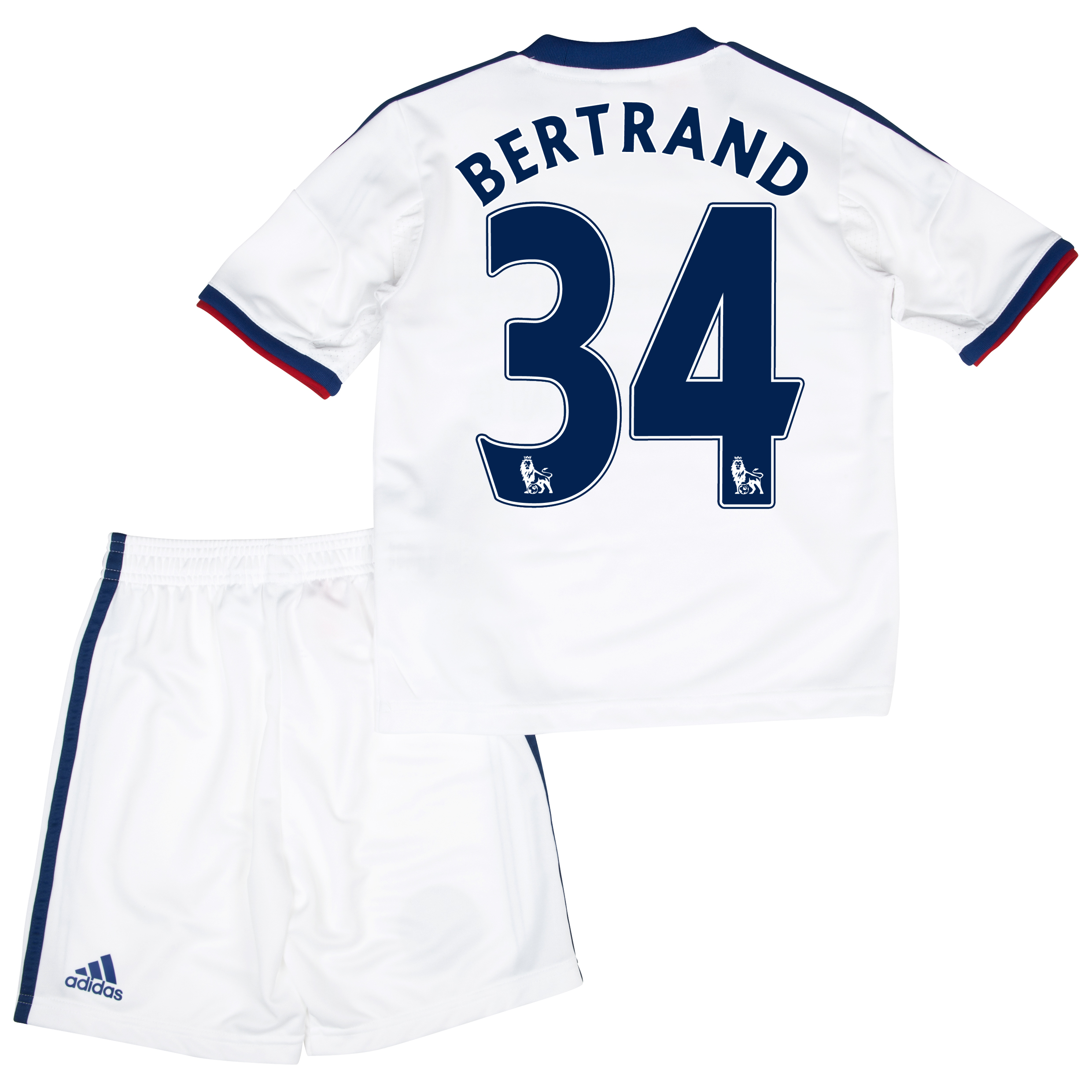 Chelsea Away Mini Kit 2013/14 with Bertrand 34 printing