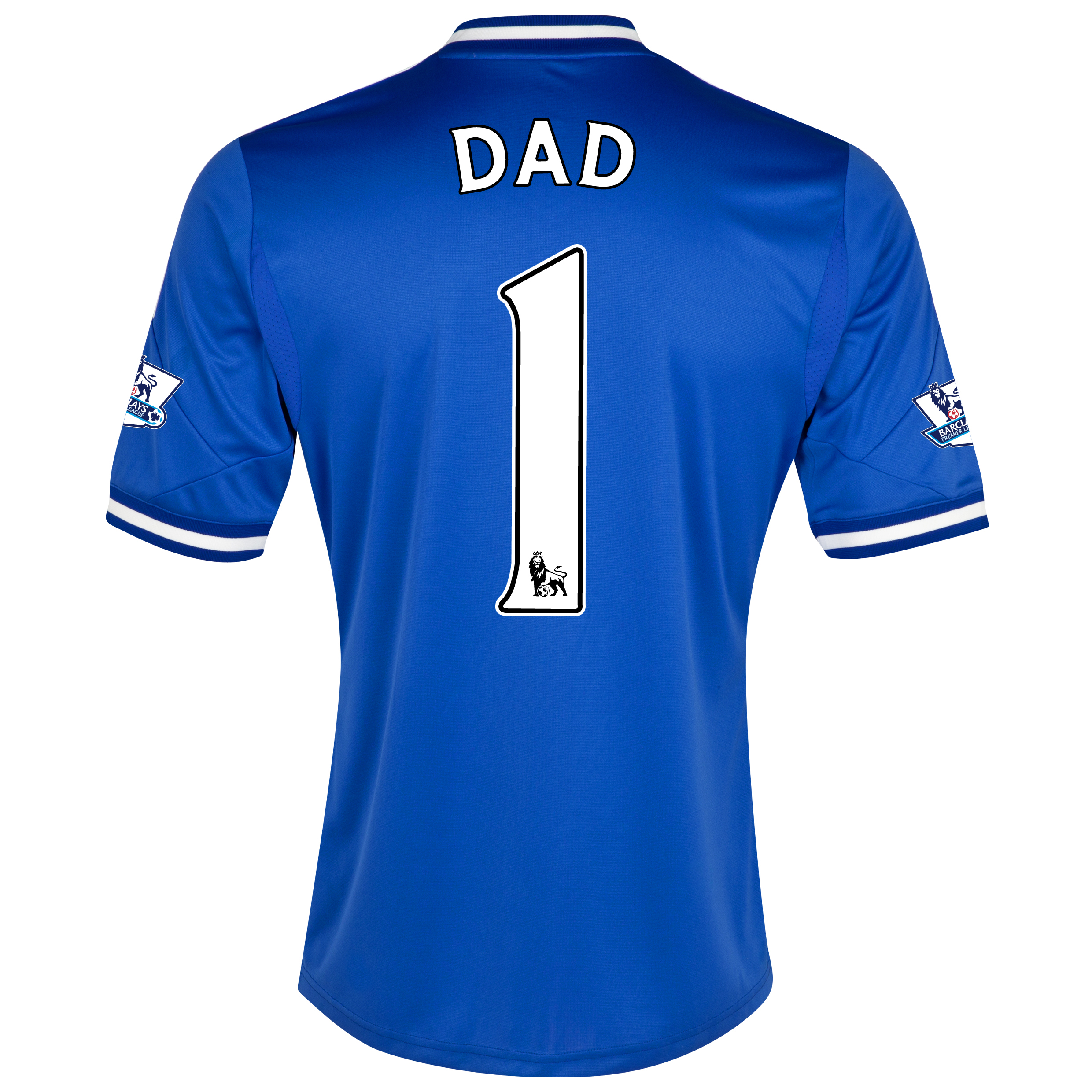 Chelsea Home Shirt 2013/14 with Dad 1 printing