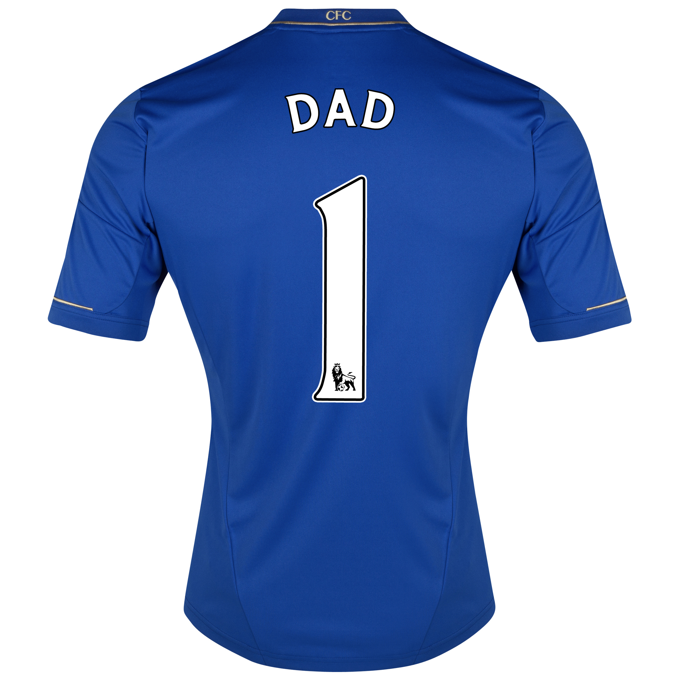 Chelsea Home Shirt 2012/13 with Dad 1 printing