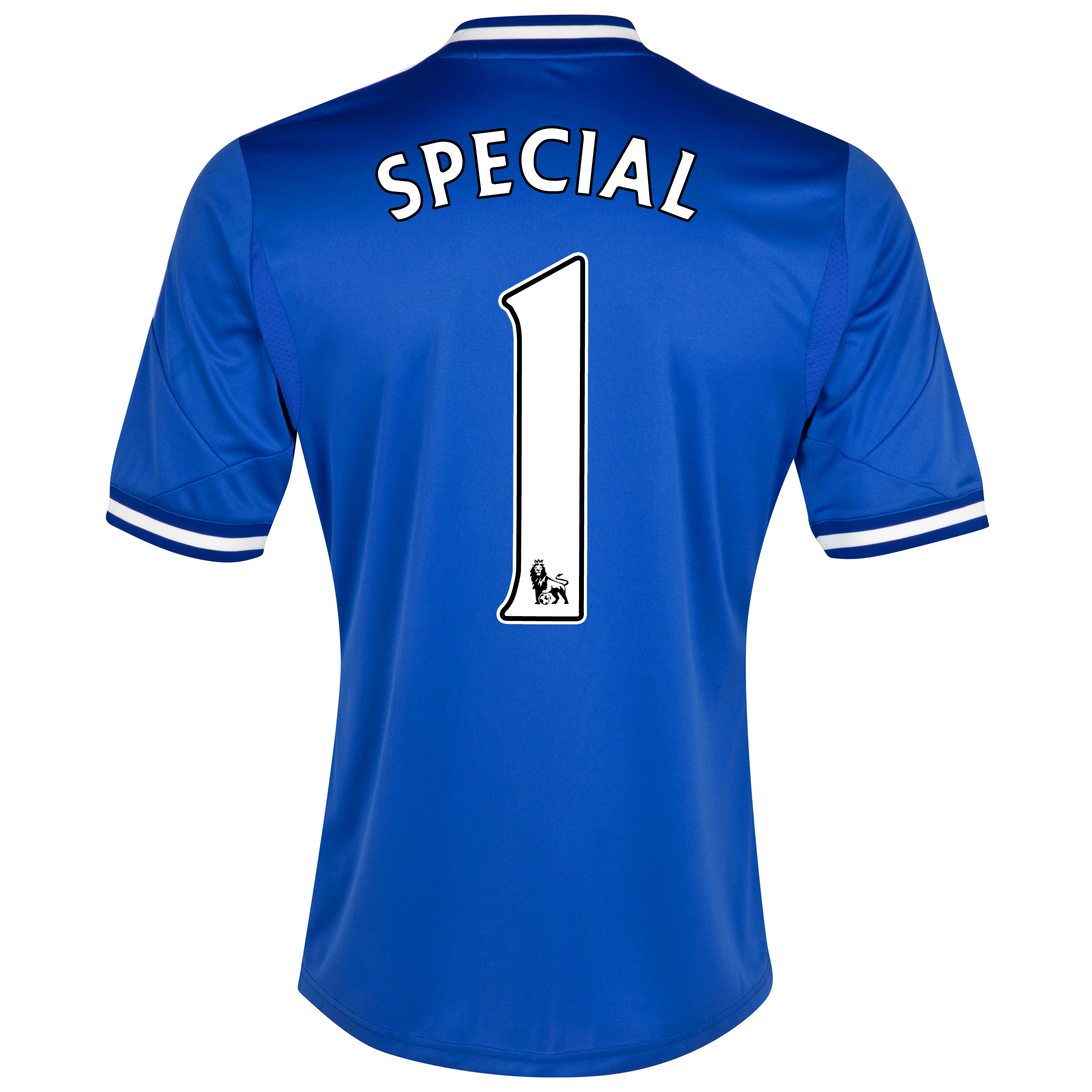 Chelsea Home Shirt 2013/14 - Outsize with Special 1 printing
