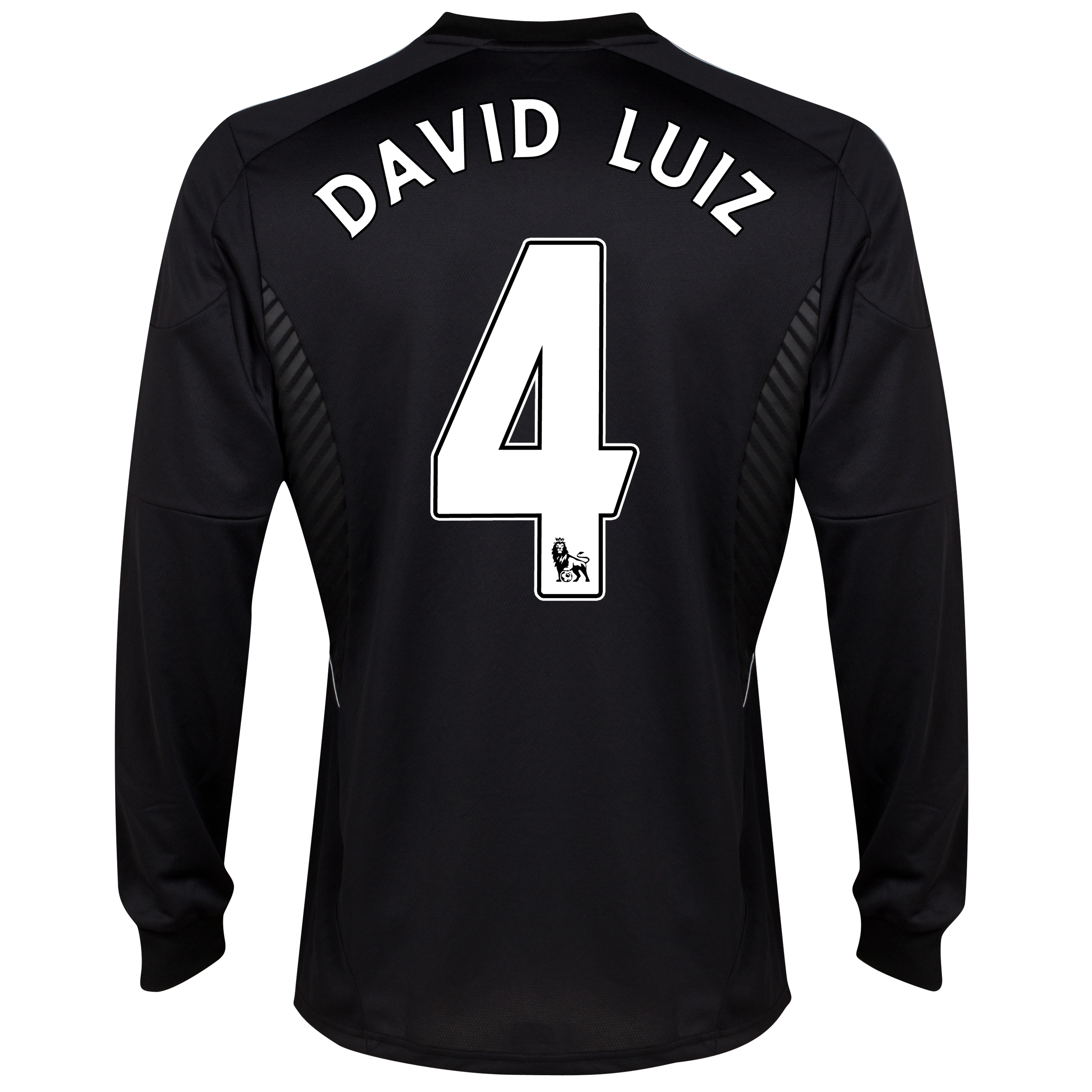 Chelsea Third Shirt 2013/14 - Long Slevve with David Luiz 4 printing