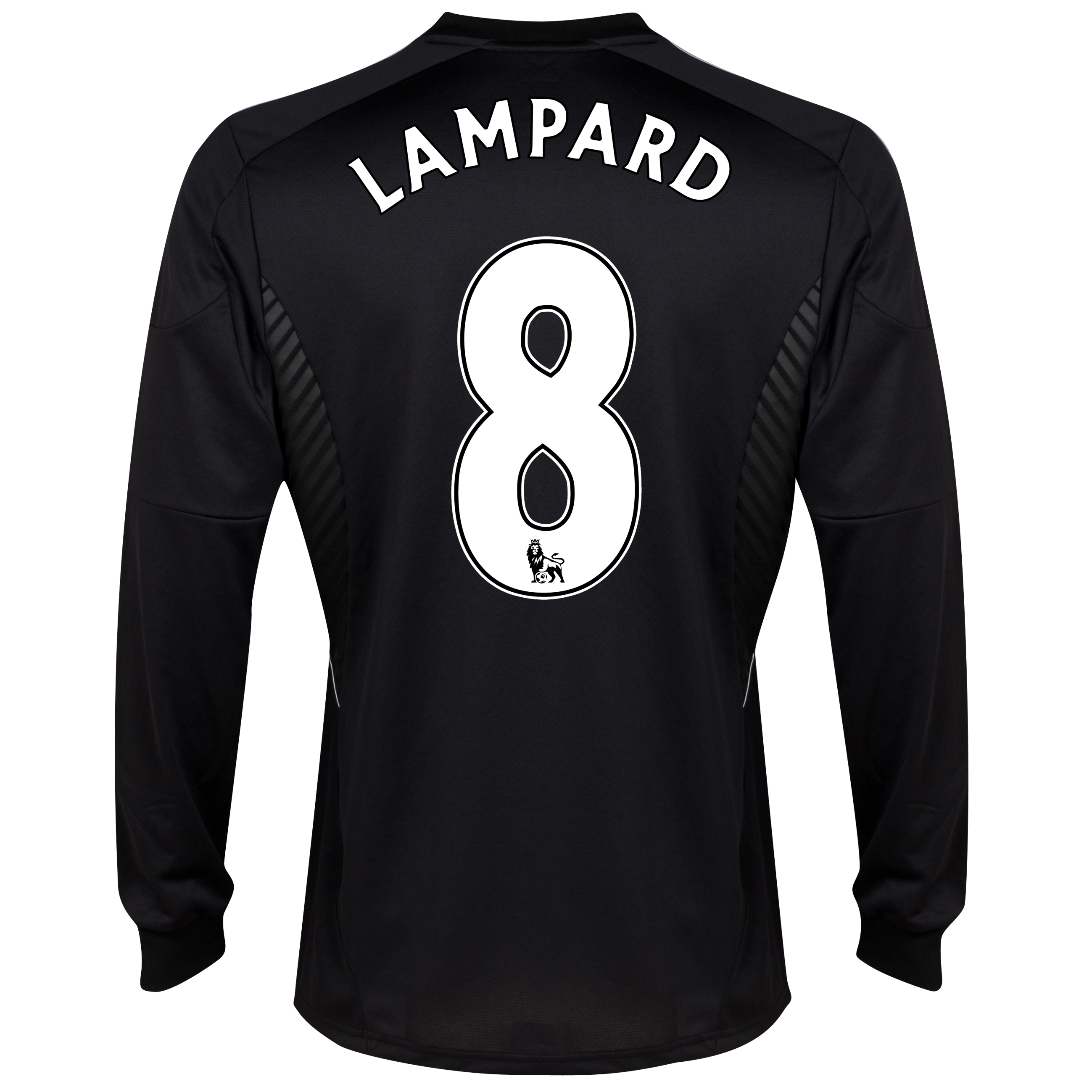 Chelsea Third Shirt 2013/14 -Long Sleeve - kids with Lampard 8 printing