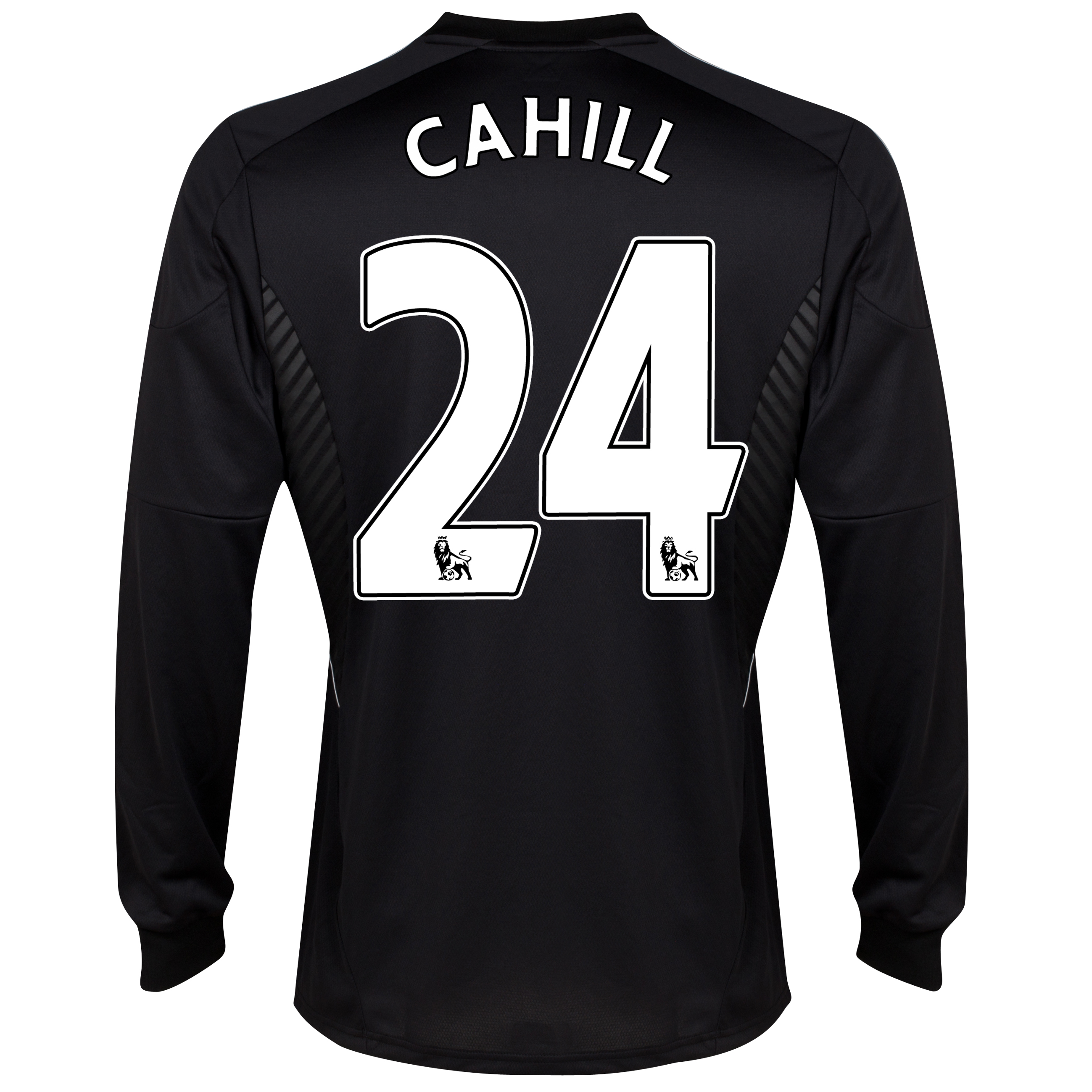 Chelsea Third Shirt 2013/14 -Long Sleeve - kids with Cahill 24 printing