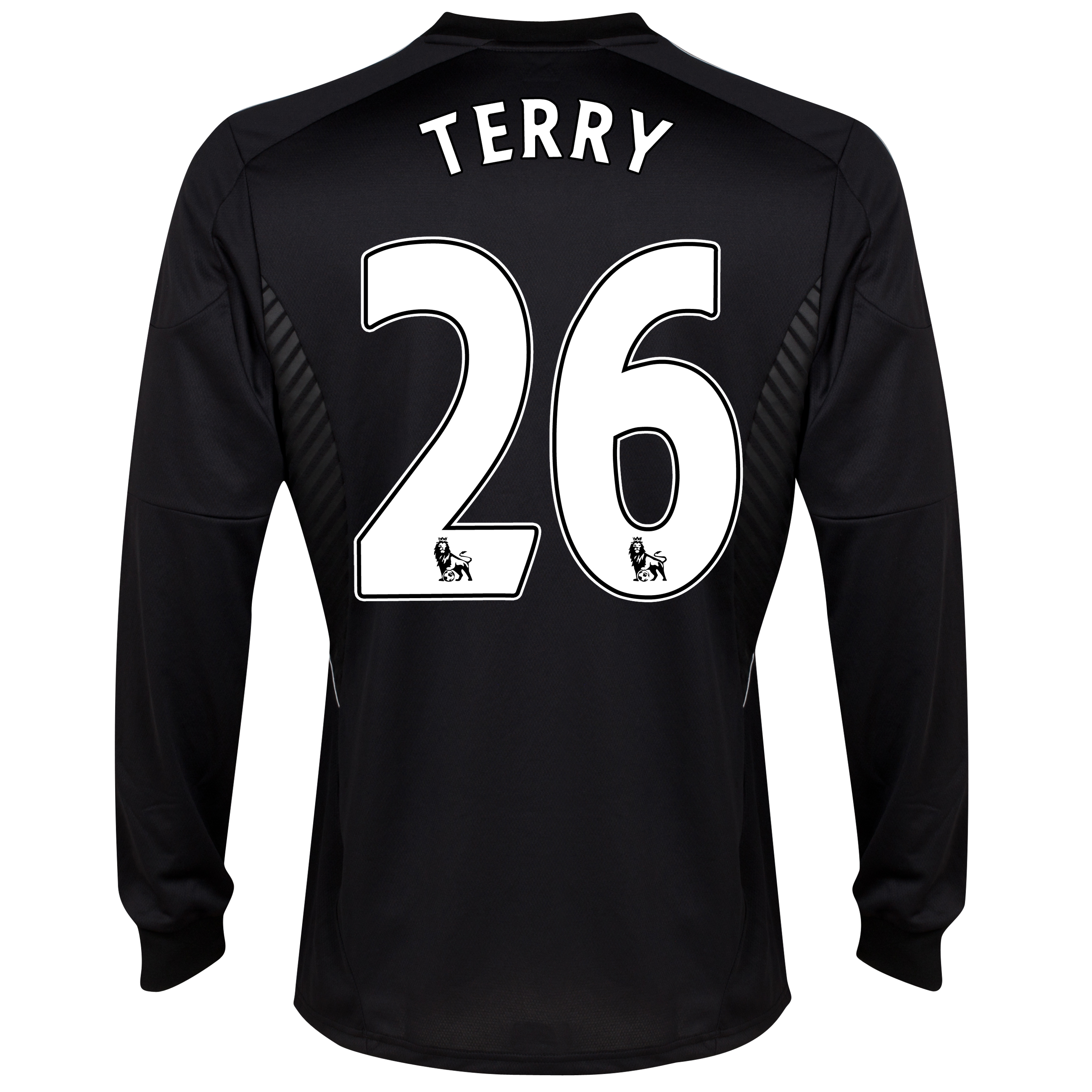 Chelsea Third Shirt 2013/14 -Long Sleeve - kids with Terry 26 printing