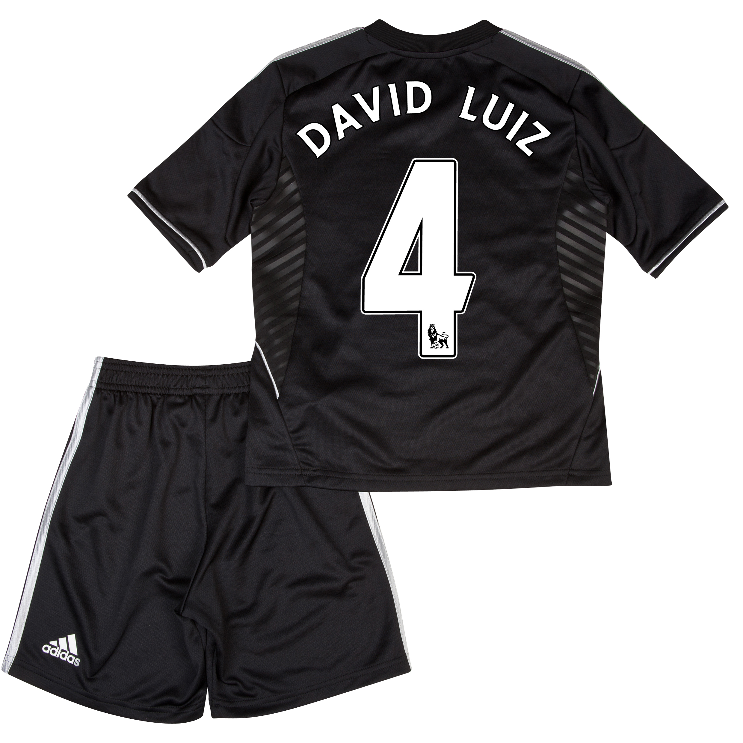 Chelsea Third Mini Kit 2013/14 with David Luiz 4 printing