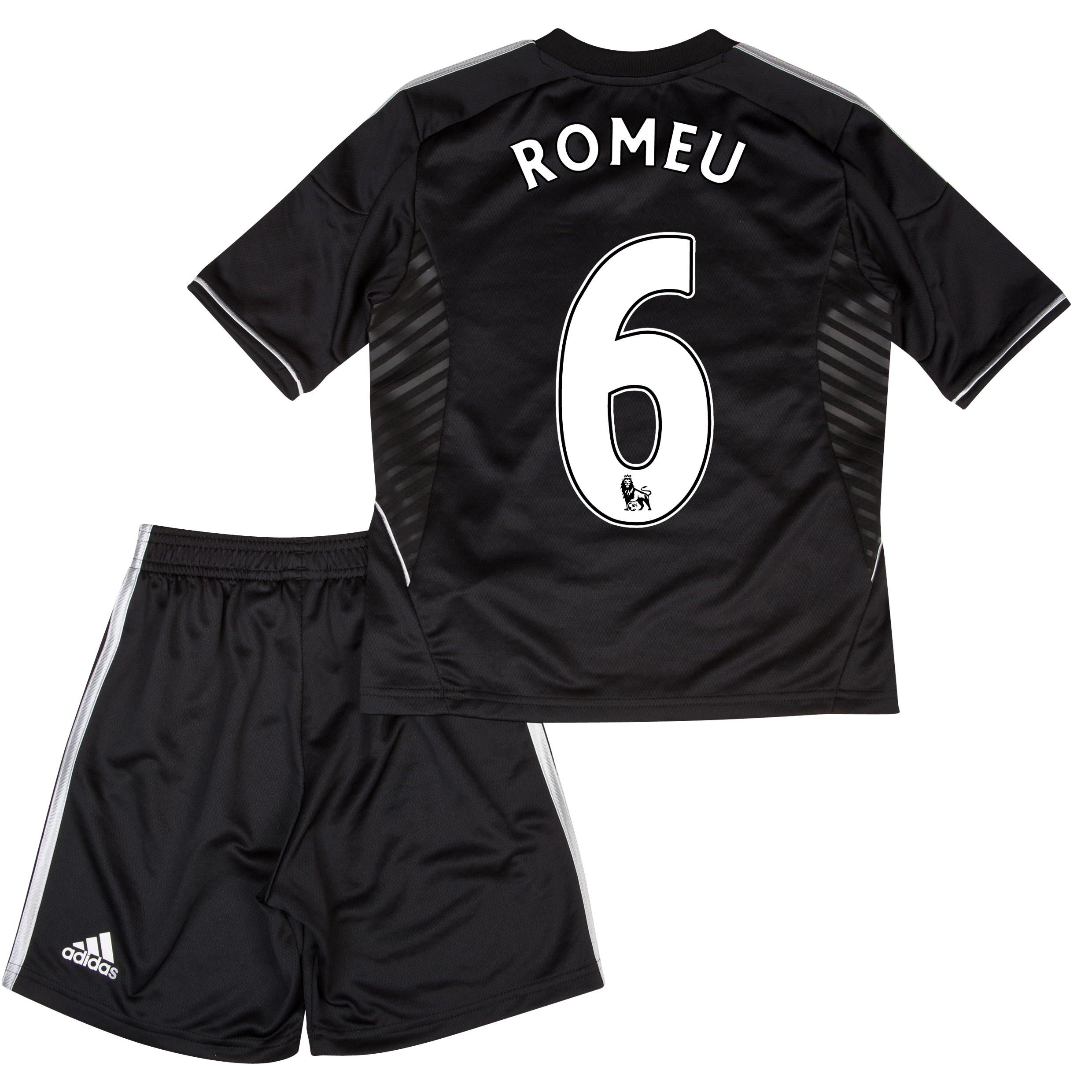 Chelsea Third Mini Kit 2013/14 with Romeu 6 printing