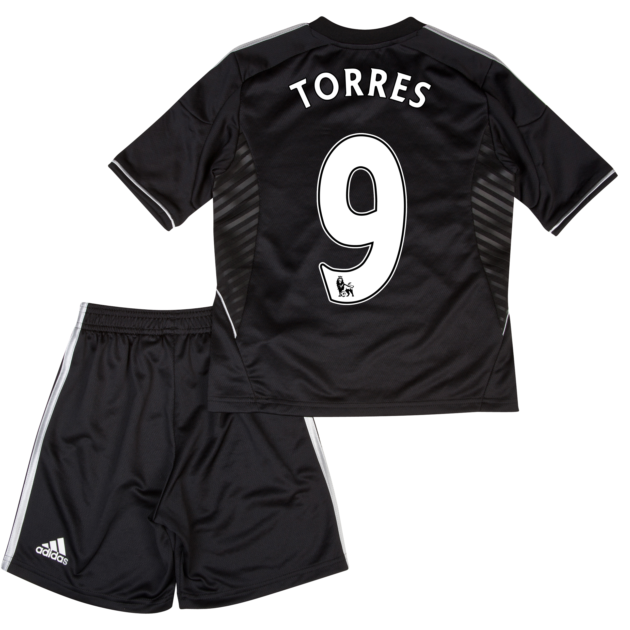 Chelsea Third Mini Kit 2013/14 with Torres 9 printing
