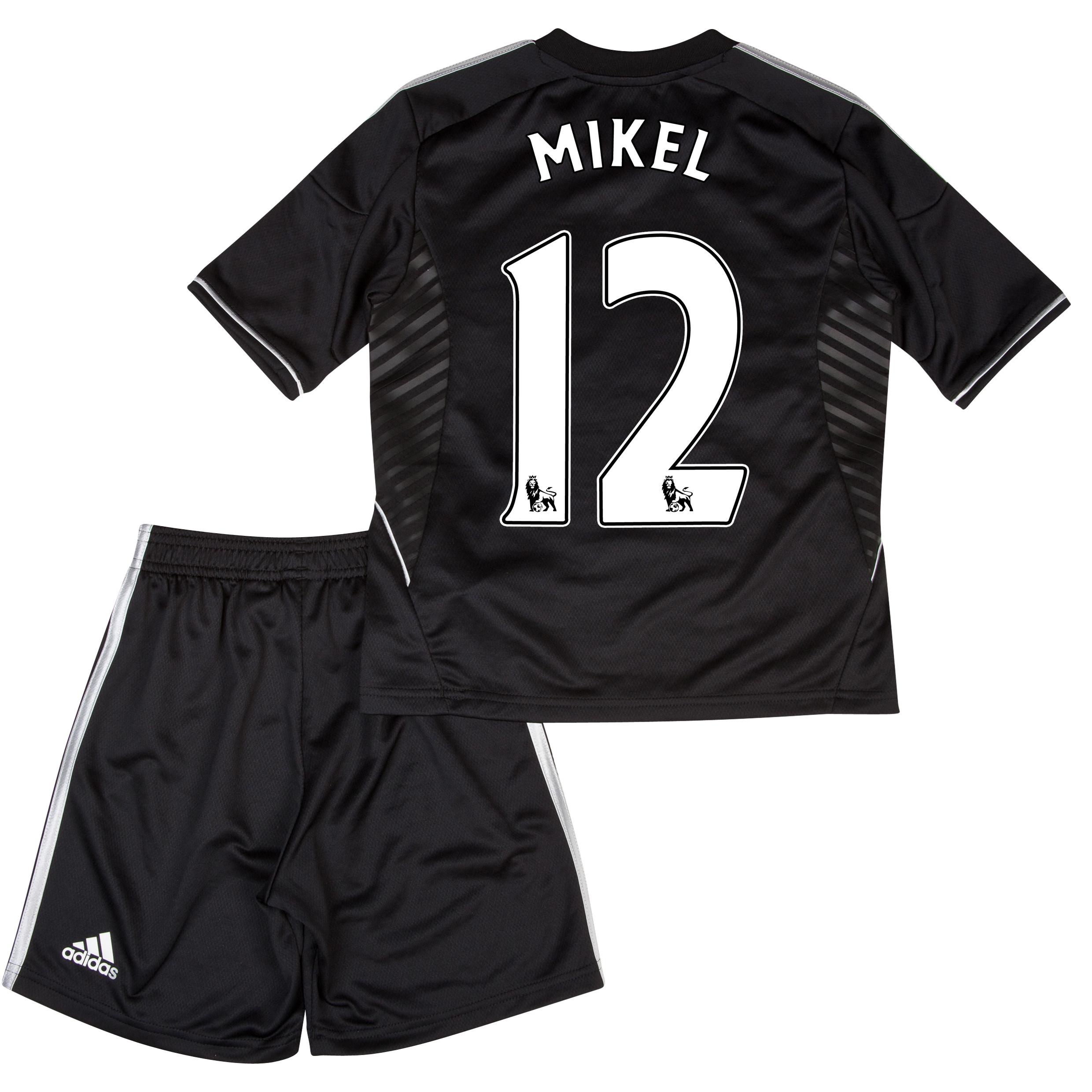 Chelsea Third Mini Kit 2013/14 with Mikel 12 printing