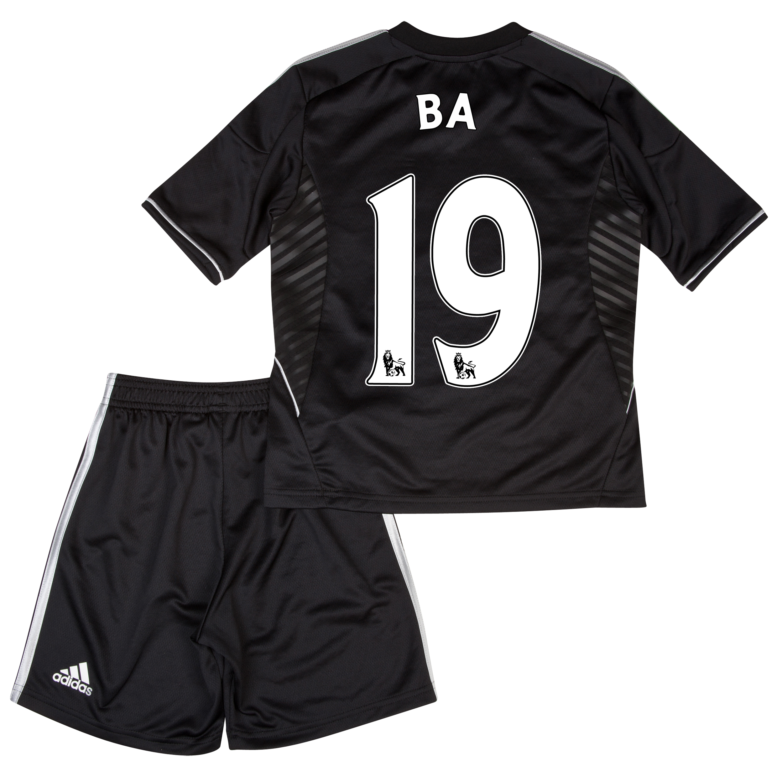 Chelsea Third Mini Kit 2013/14 with Ba 19 printing