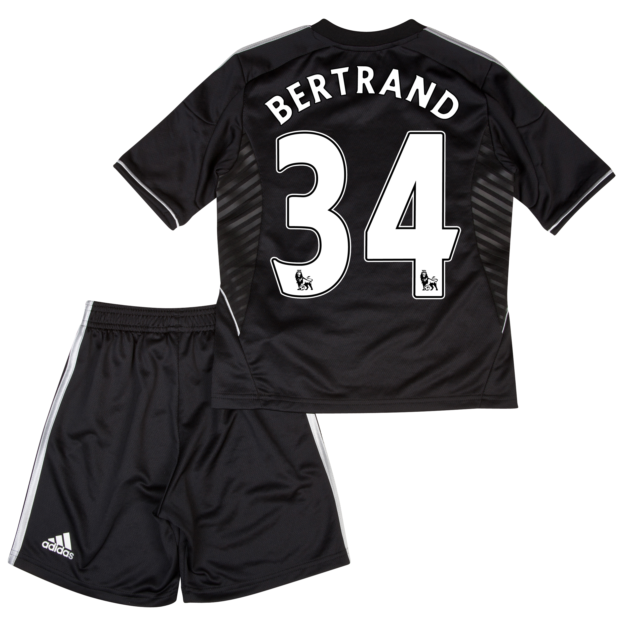 Chelsea Third Mini Kit 2013/14 with Bertrand 34 printing