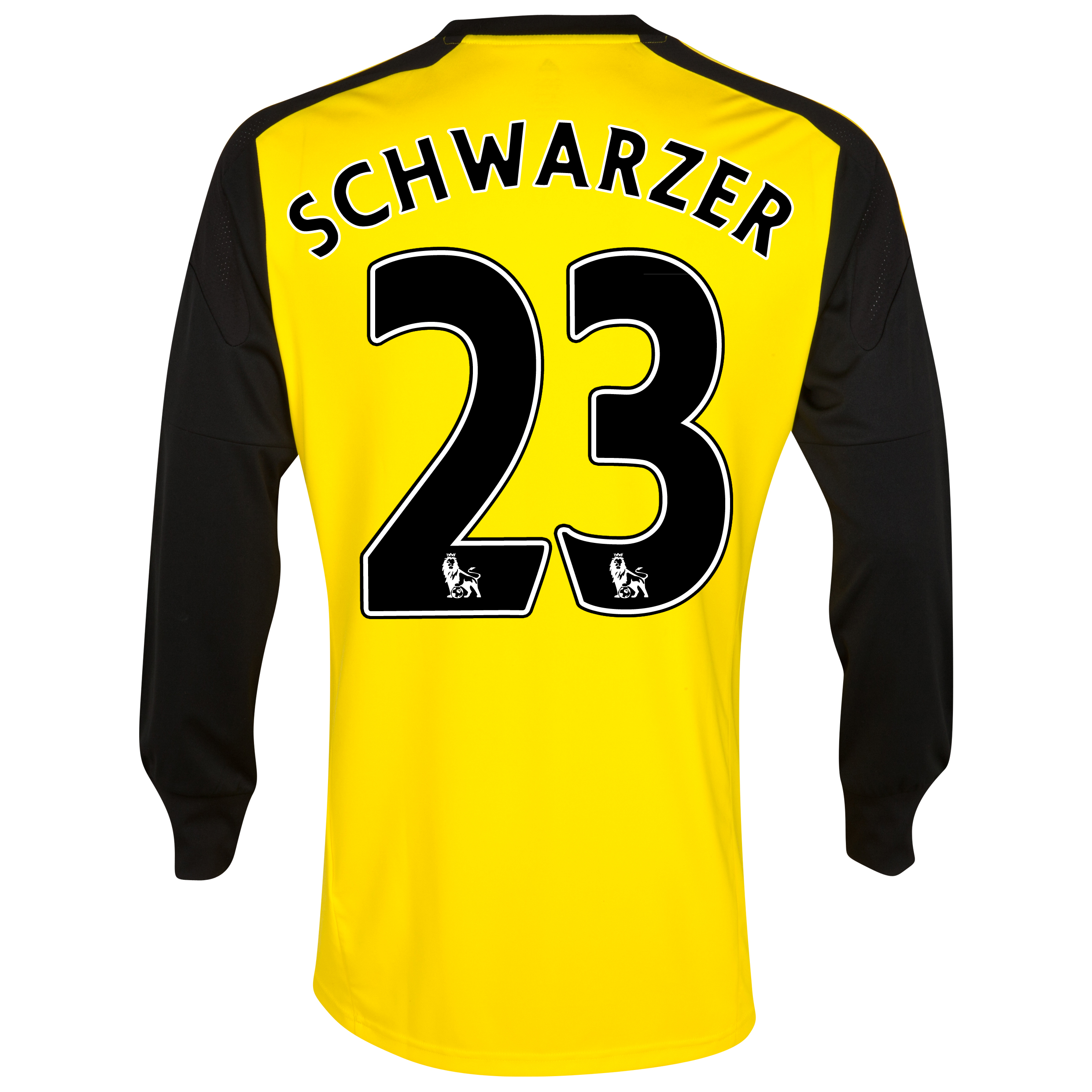 Chelsea Home Goalkeeper Mini Kit 2013/14 with Schwarzer 23 printing