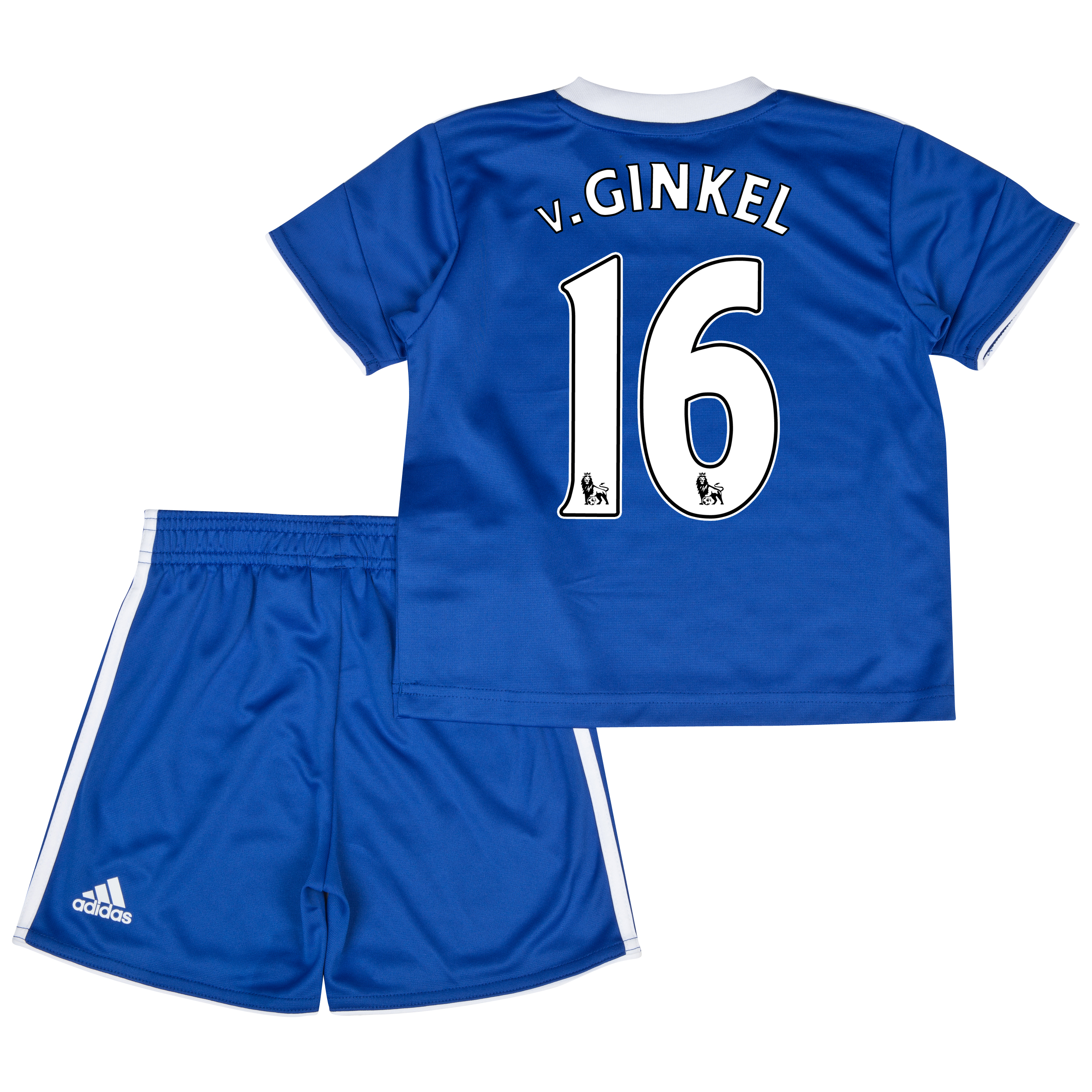 Chelsea Home Mini Kit 2013/14 with v.Ginkel 16 printing