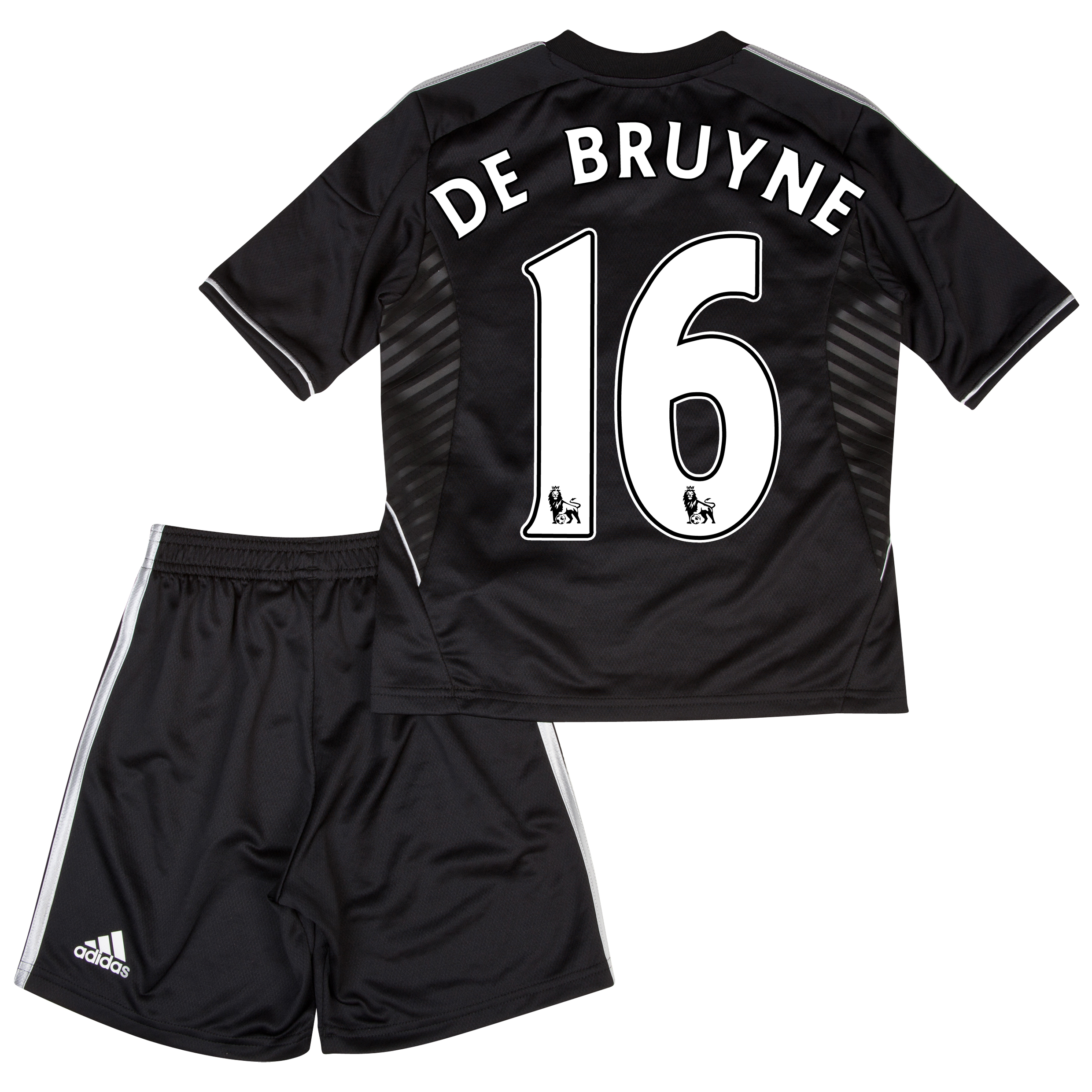 Chelsea Third Mini Kit 2013/14 with De Bruyne 15 printing