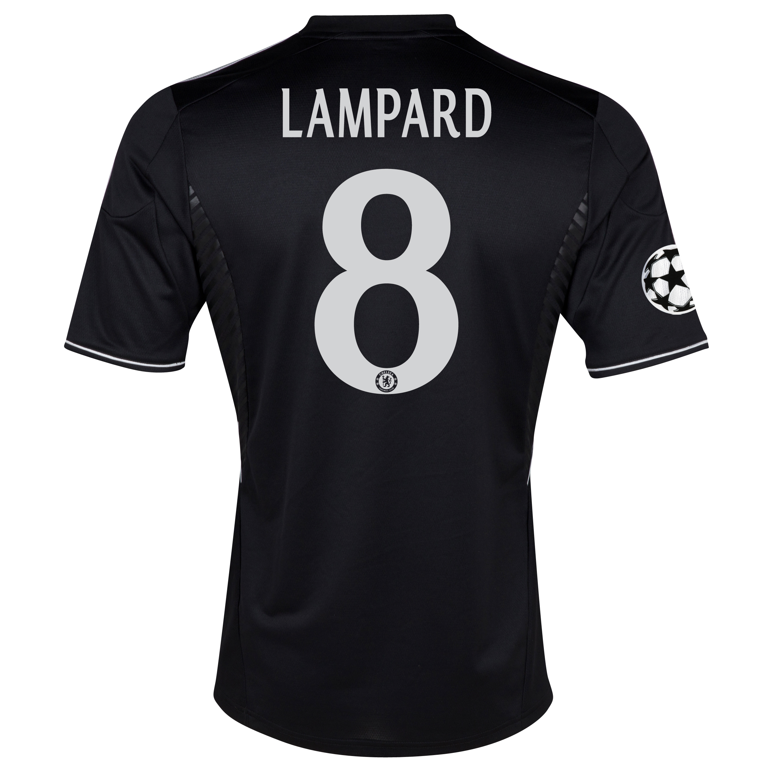Chelsea UEFA Champions League Third Shirt 2013/14 with Lampard 8 printing