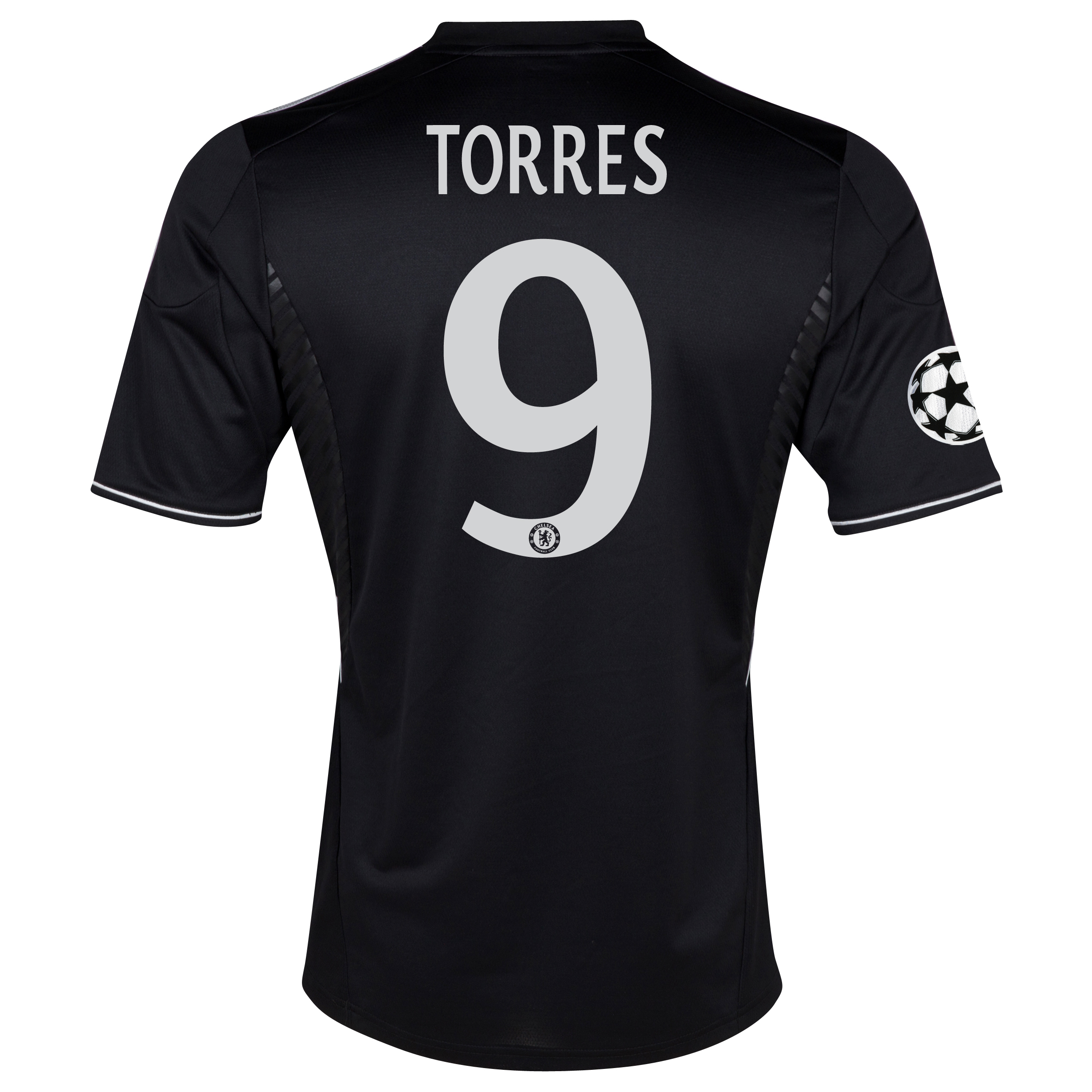 Chelsea UEFA Champions League Third Shirt 2013/14 with Torres 9 printing