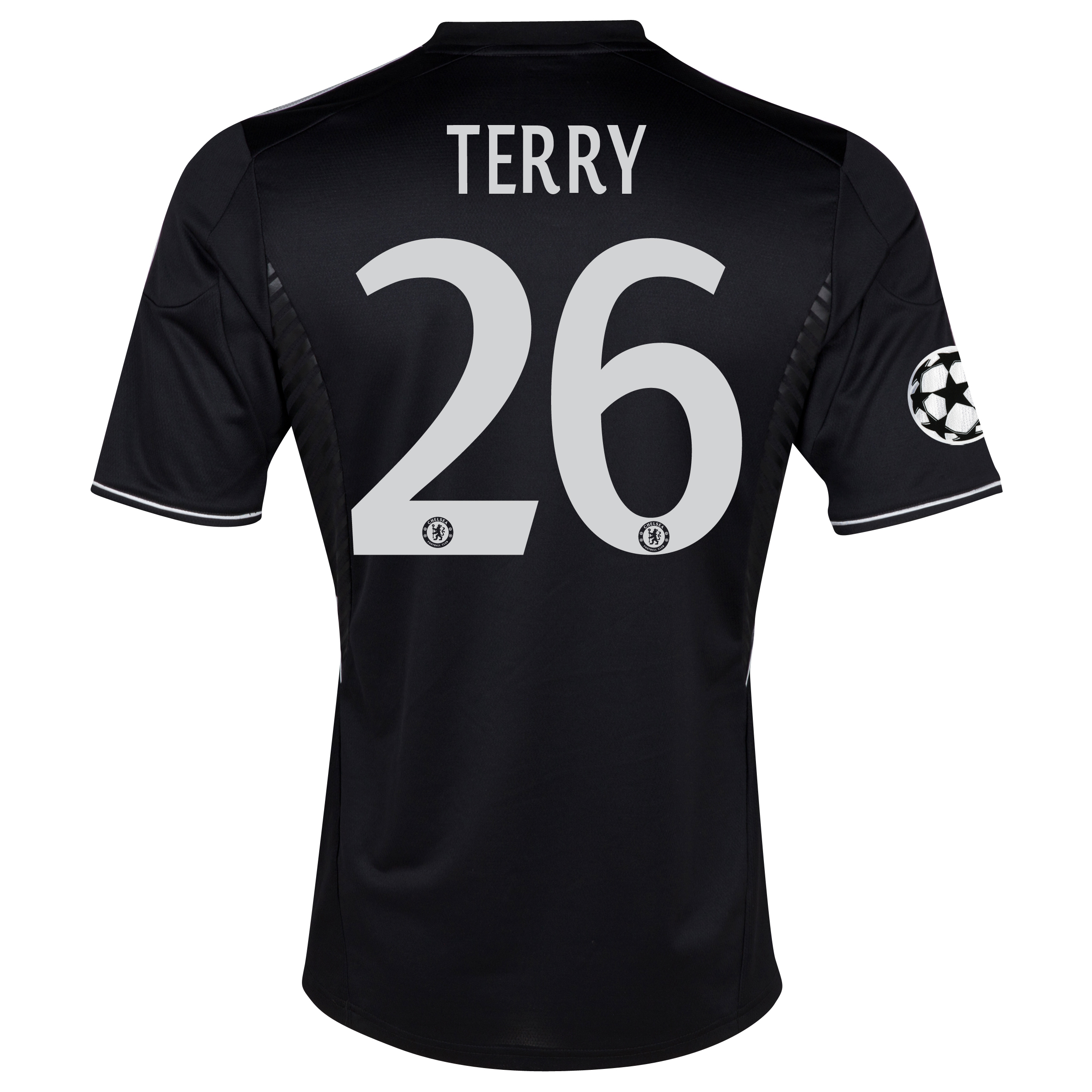 Chelsea UEFA Champions League Third Shirt 2013/14 with Terry 26 printing