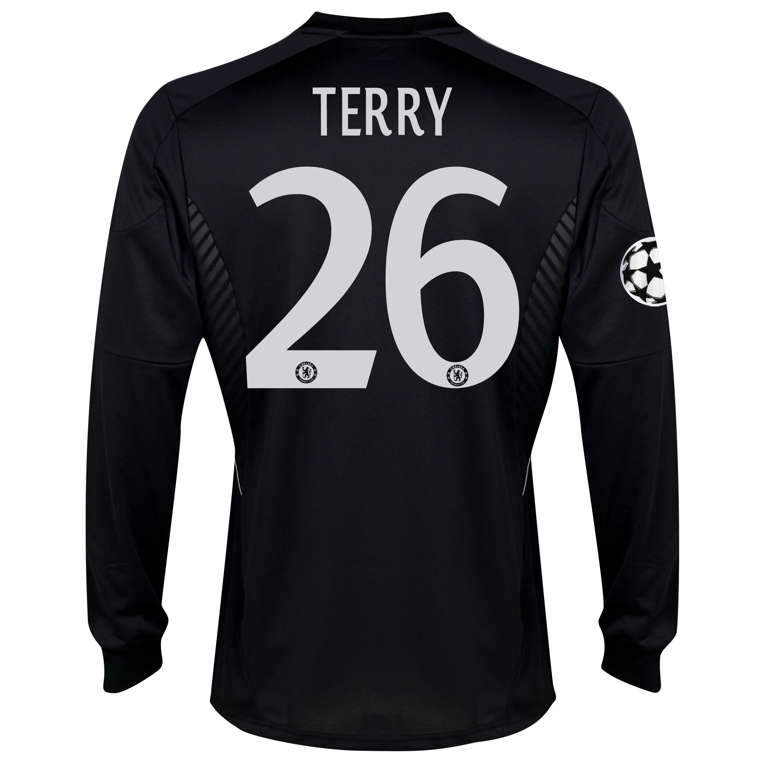 Chelsea UEFA Champions League Third Shirt 2013/14 - Long Sleeve with Terry 26 printing