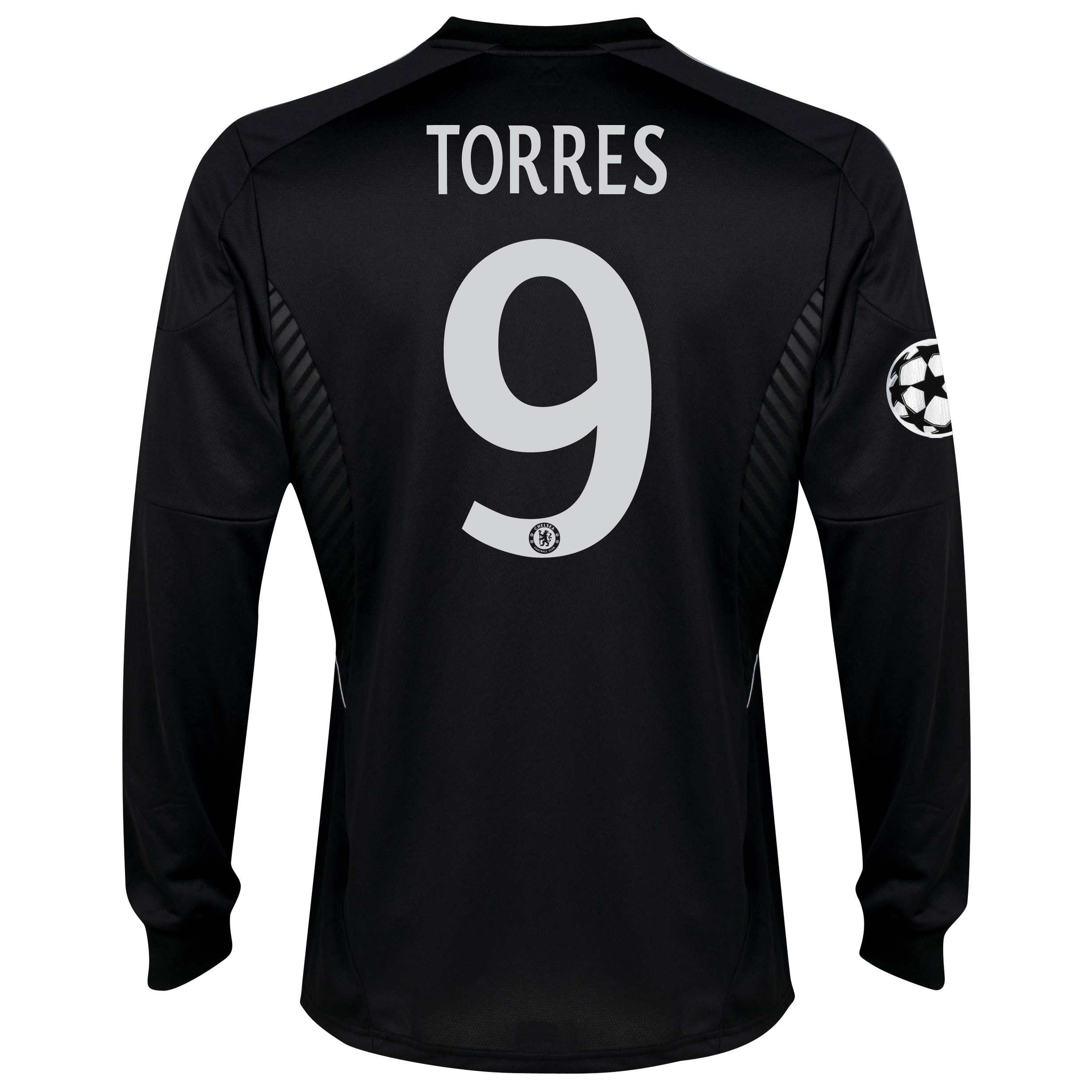 Chelsea UEFA Champions League Third Shirt 2013/14 -Long Sleeve - kids with Torres 9 printing