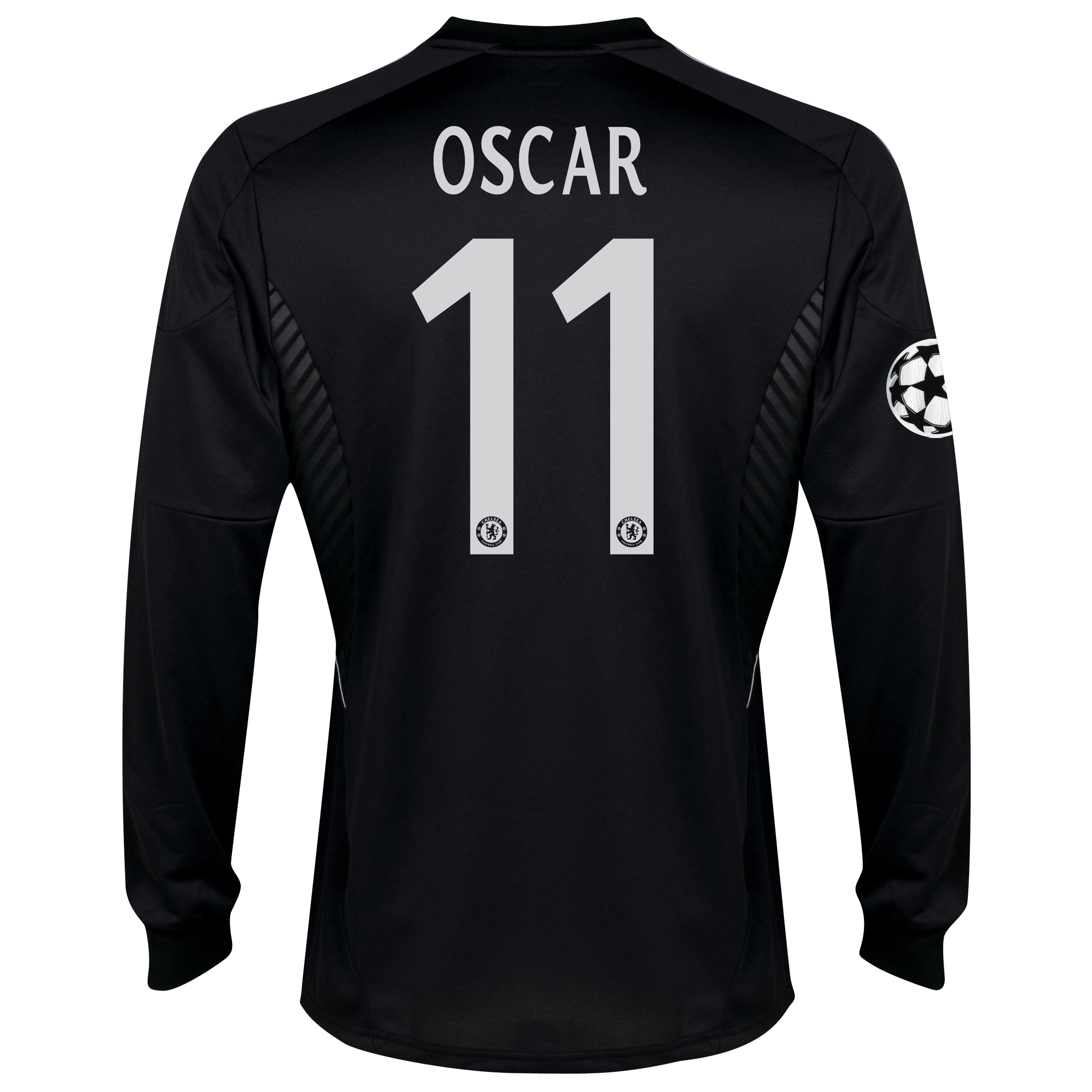 Chelsea UEFA Champions League Third Shirt 2013/14 -Long Sleeve - kids with Oscar 11 printing