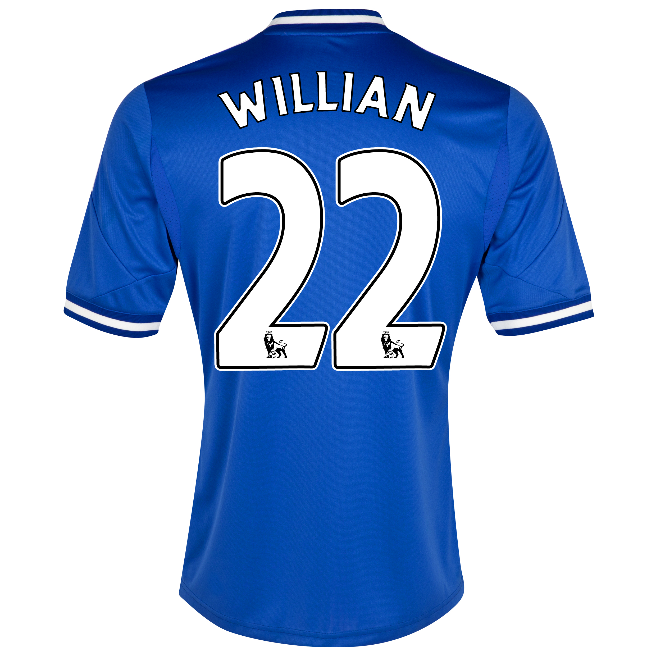 Chelsea Home Shirt 2013/14 - Kids with Willian 22 printing