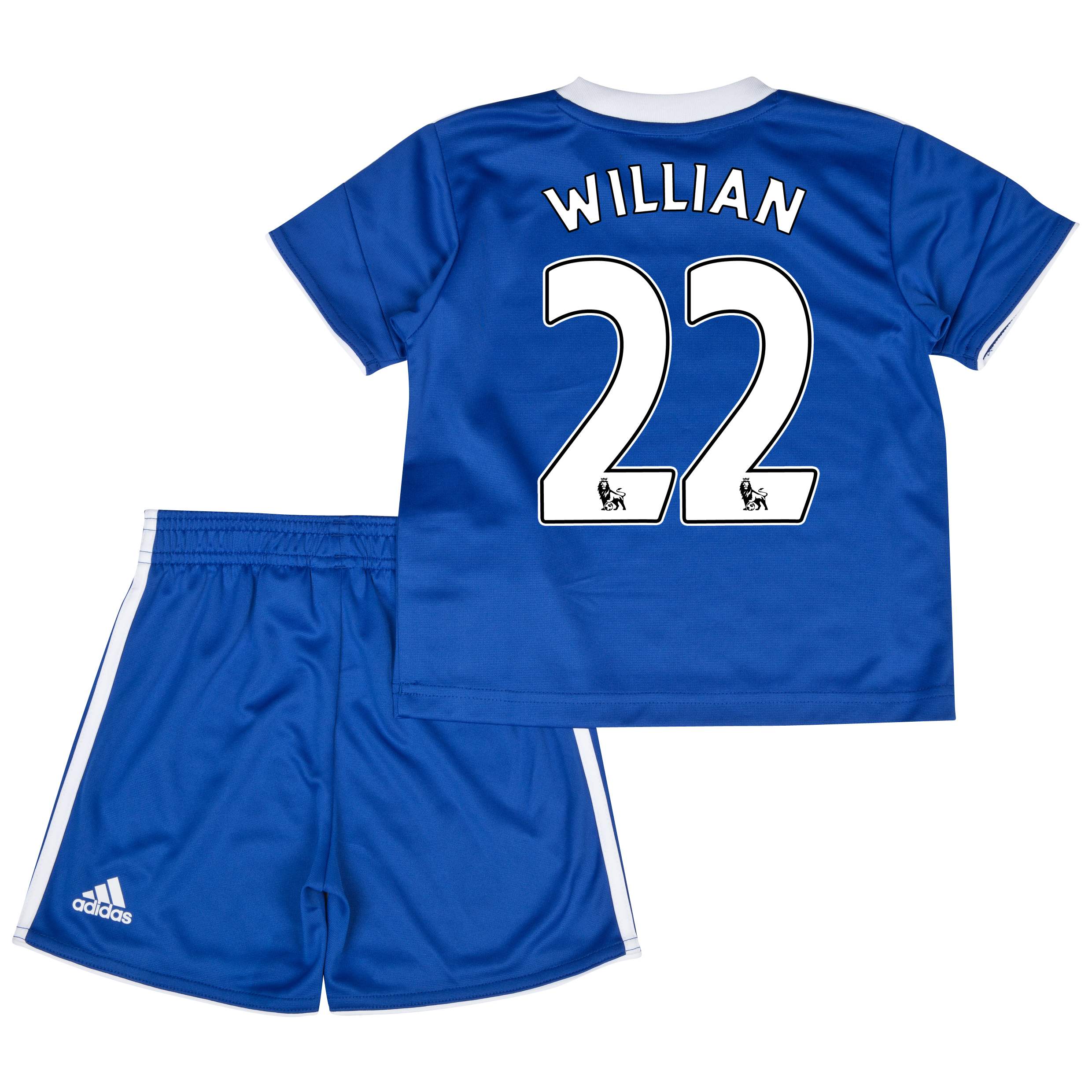 Chelsea Home Mini Kit 2013/14 with Willian 22 printing