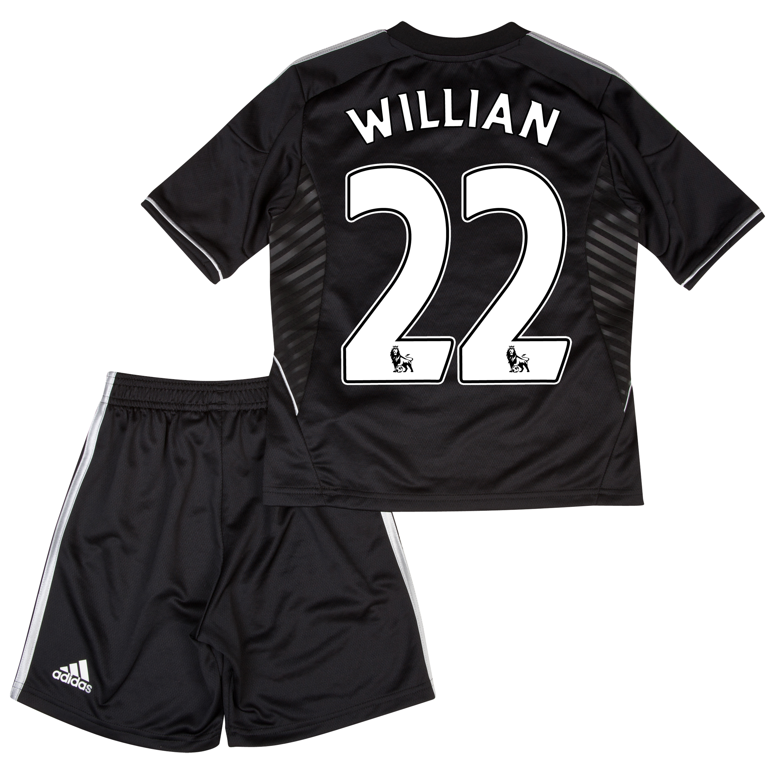 Chelsea Third Mini Kit 2013/14 with Willian 22 printing