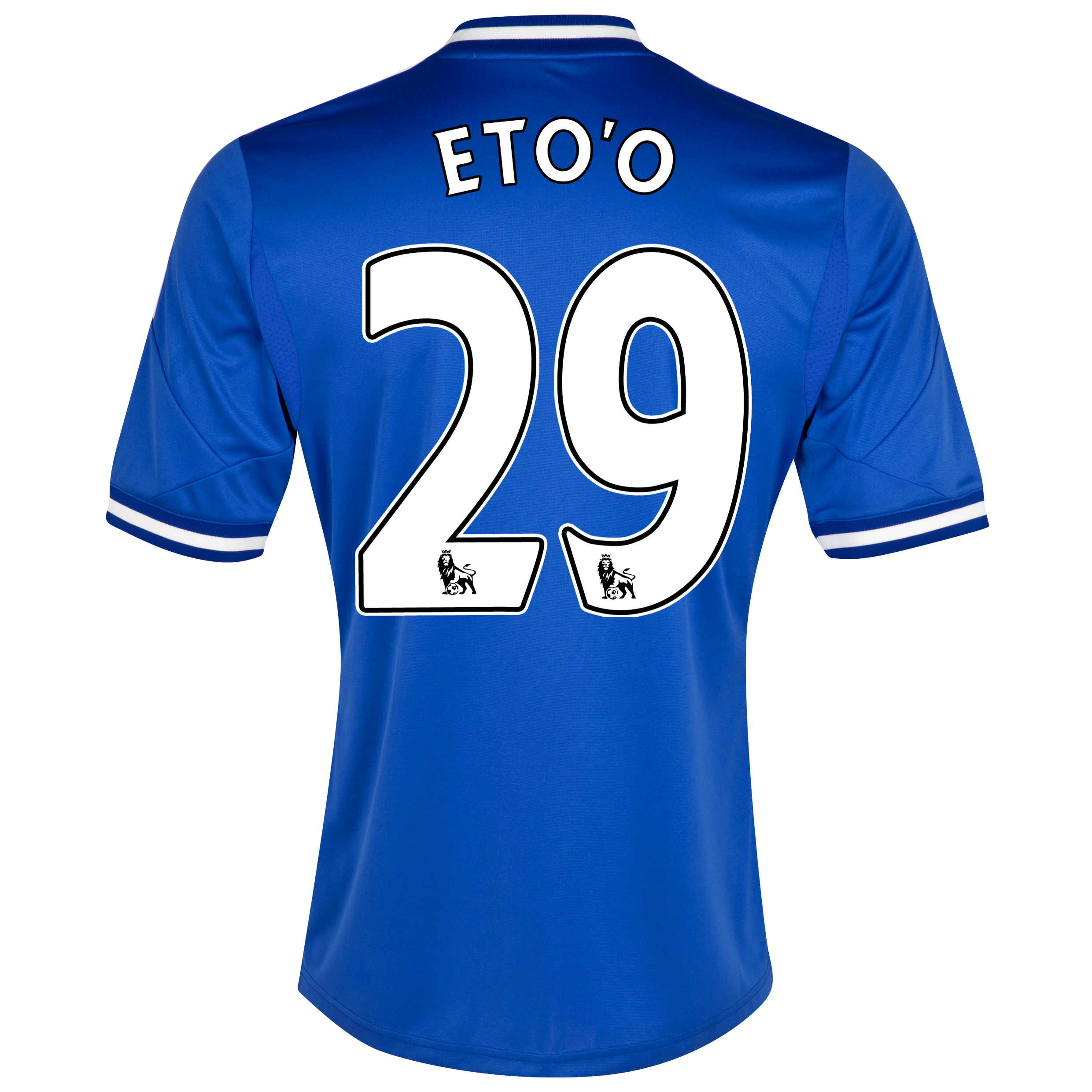 Chelsea Home Shirt 2013/14 - Kids with Eto'o 29 printing