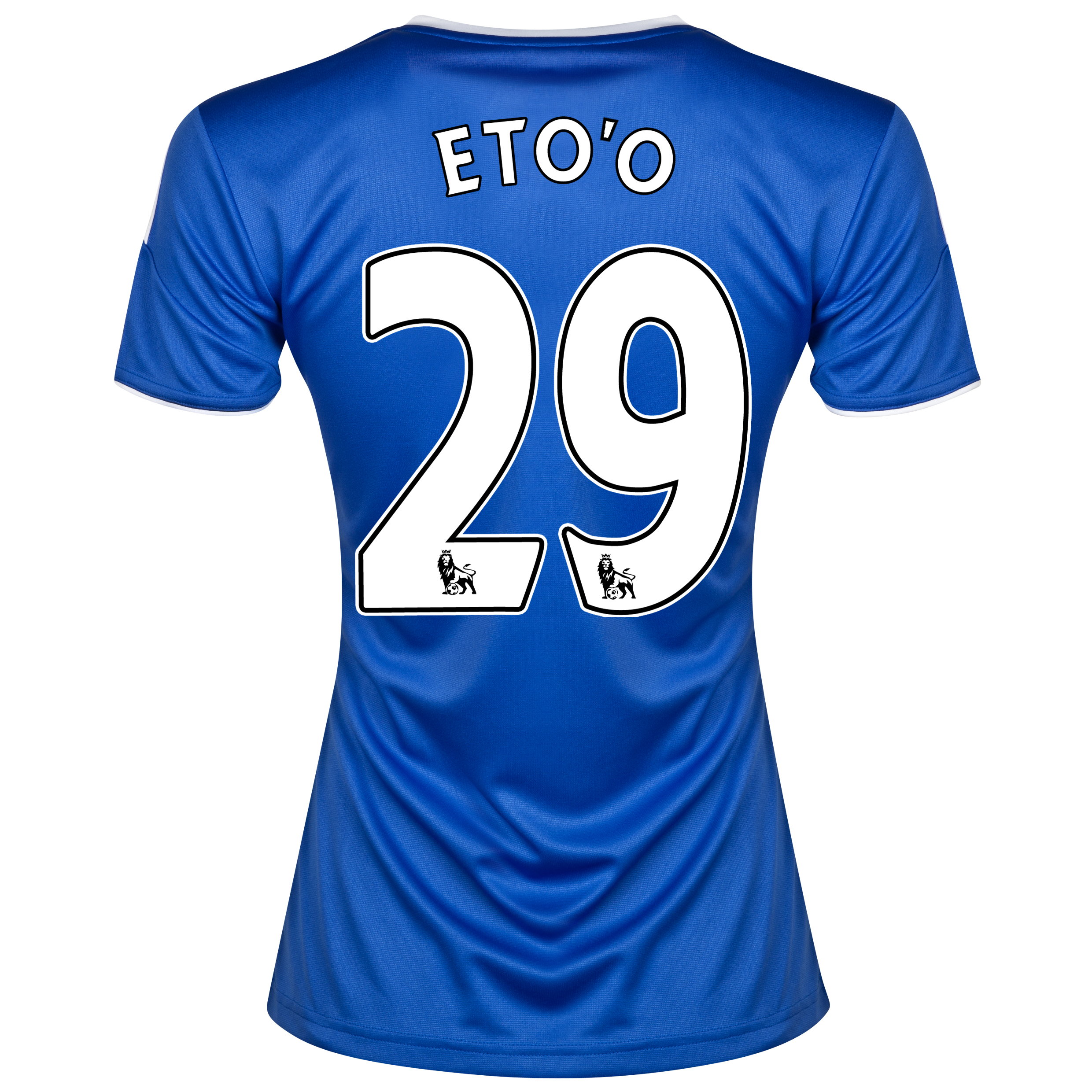 Chelsea Home Shirt 2013/14- Womens with Eto'o 29 printing