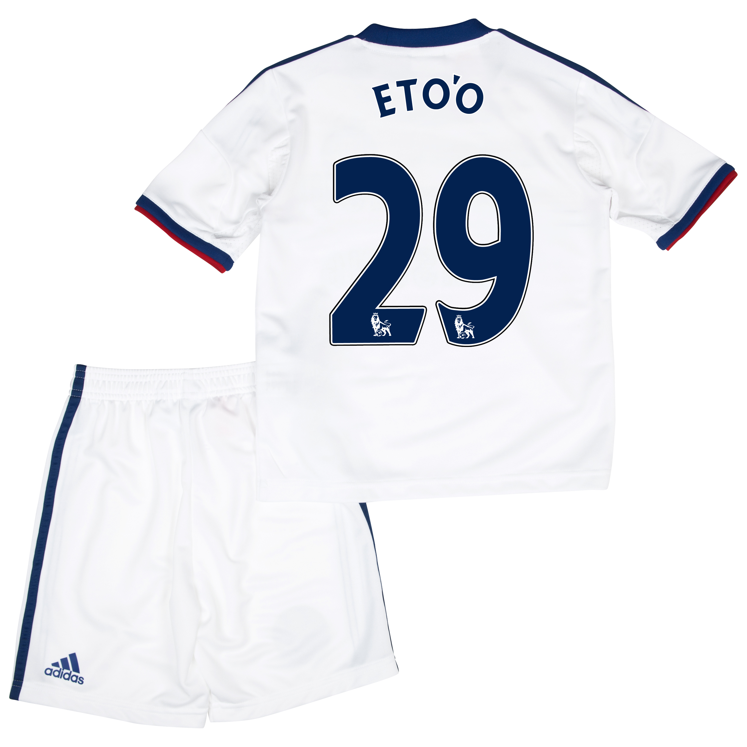 Chelsea Away Mini Kit 2013/14 with Eto'o 29 printing