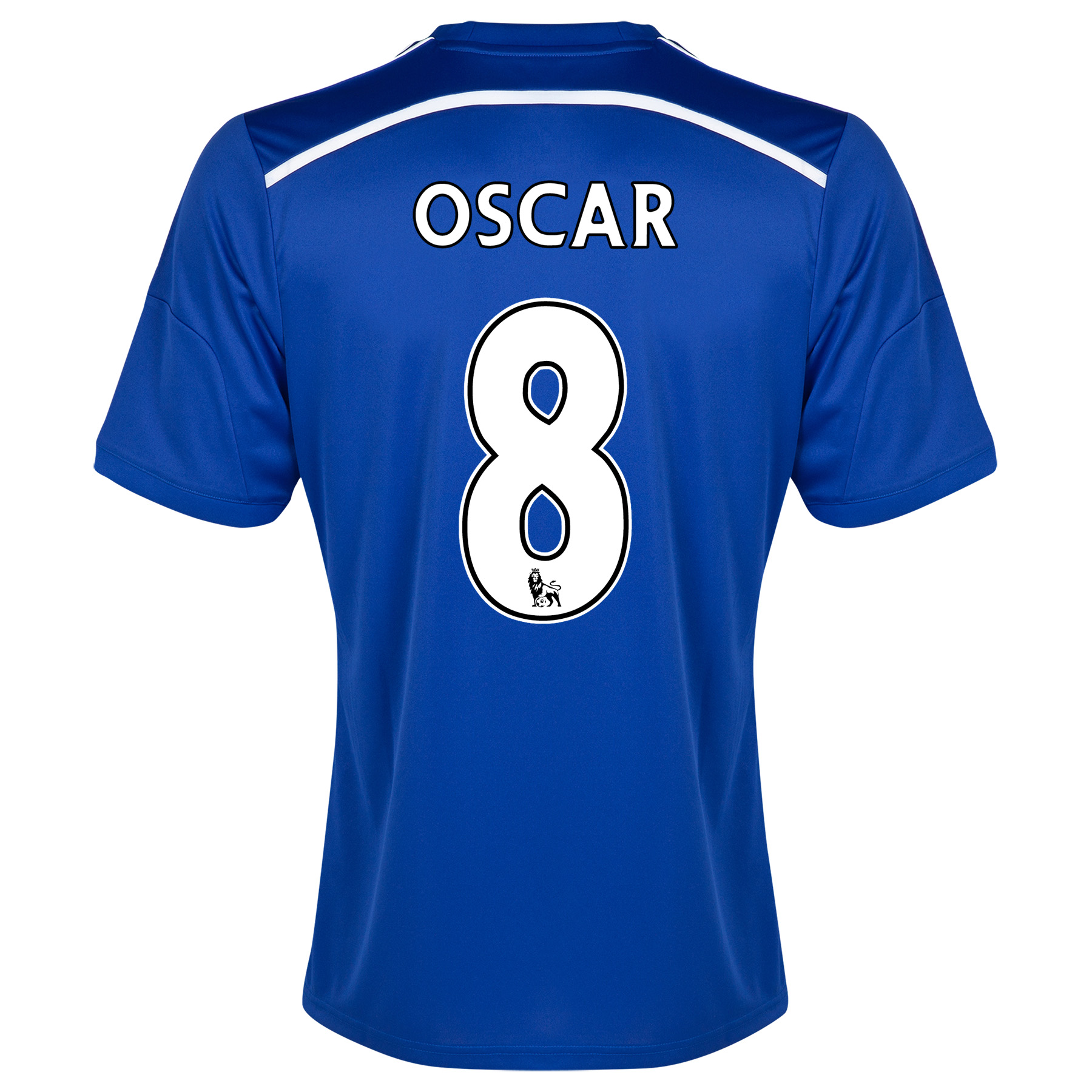 Chelsea Home Shirt 2014/15 Blue with Oscar 11 printing
