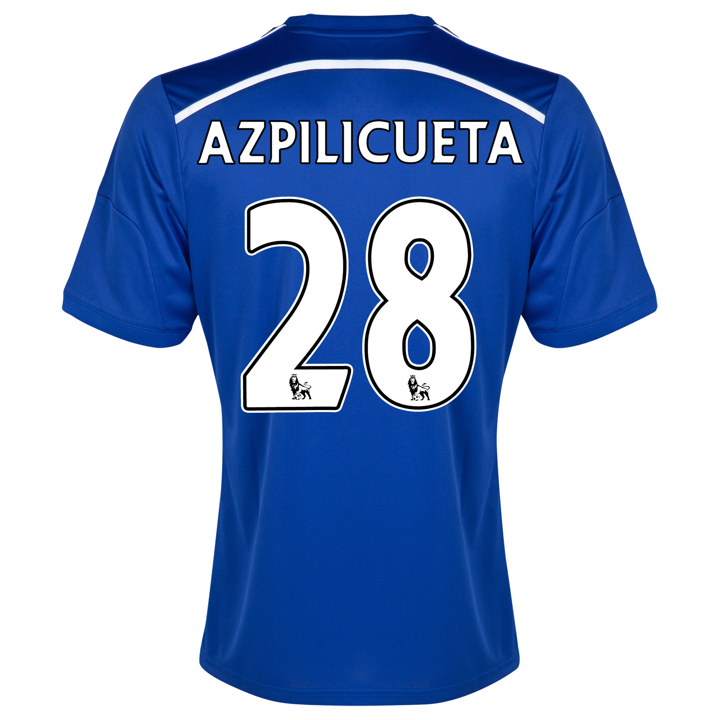 with Azpilicueta 28 printing
