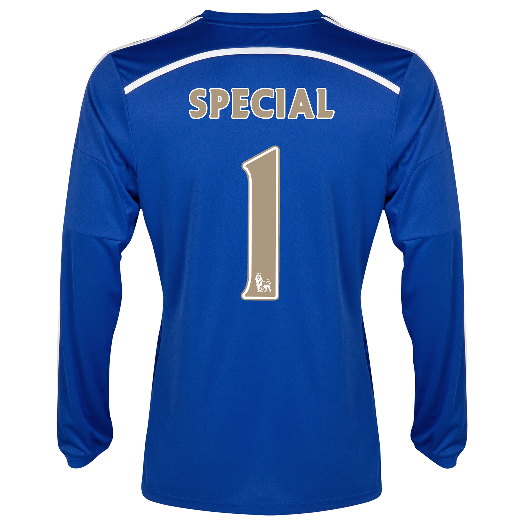 Chelsea Home Shirt 2014/15 - Long Sleeve - Kids Blue with Special 1 printing