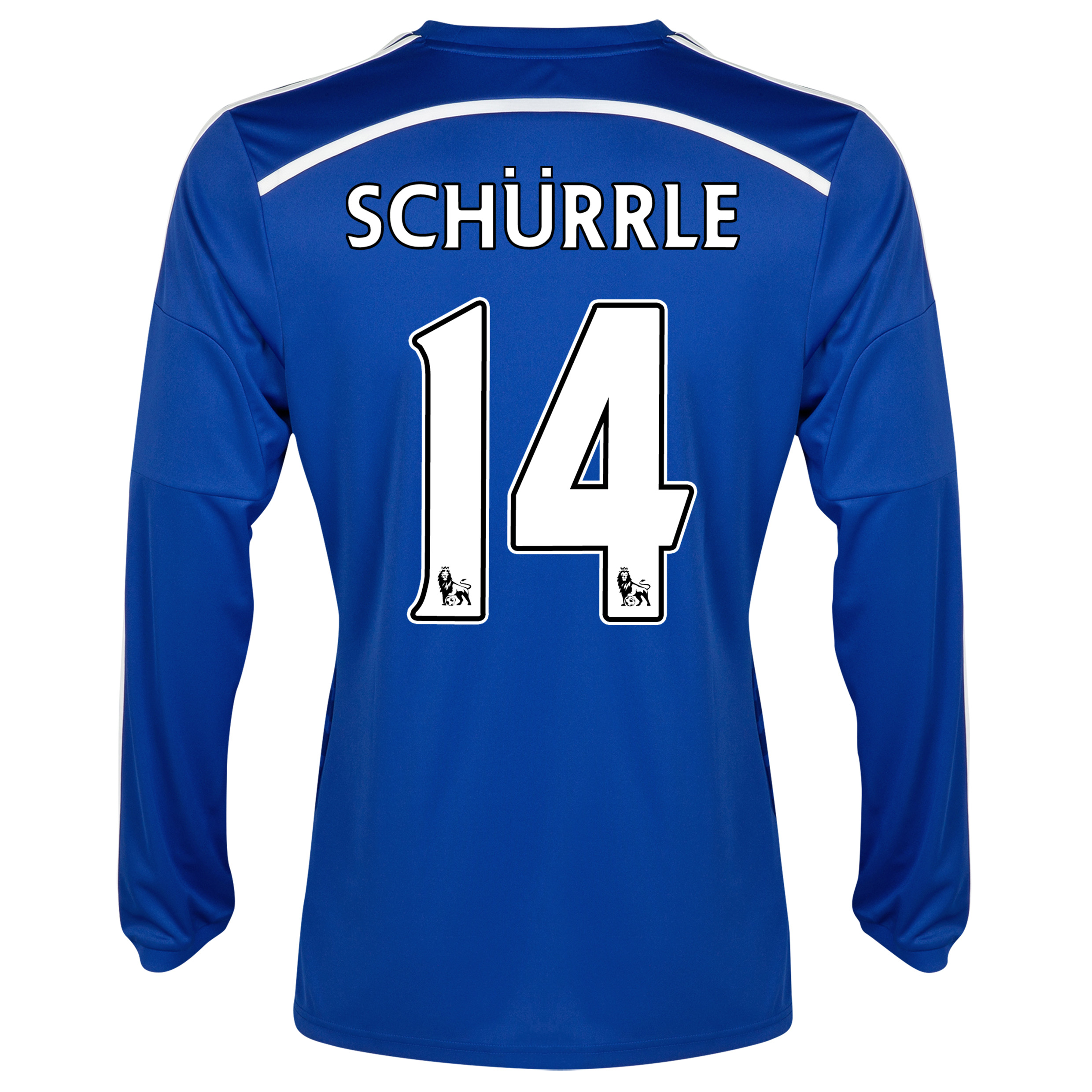 Chelsea Home Shirt 2014/15 - Long Sleeve - Kids Blue with Schurrle 14 printing