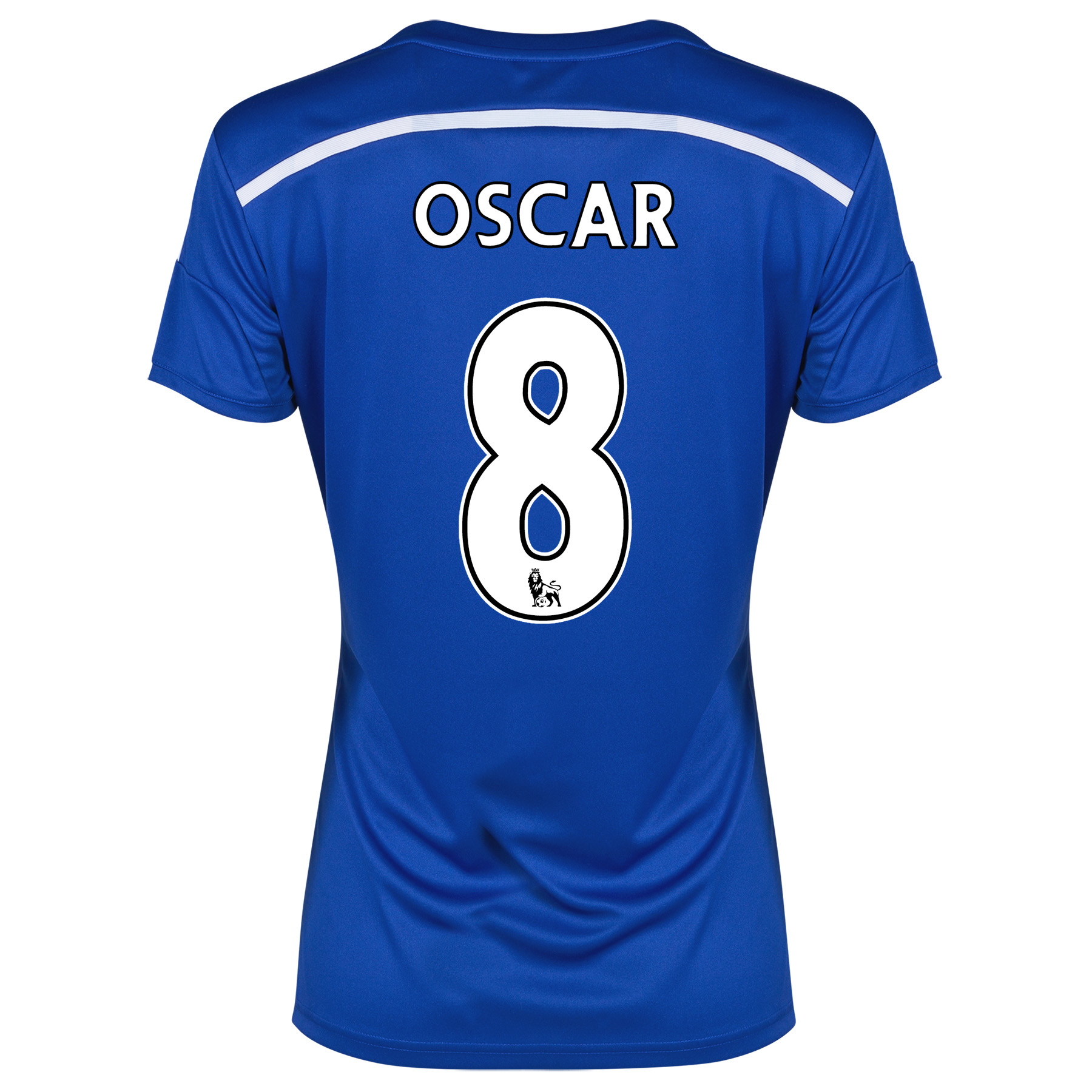 Chelsea Home Shirt 2014/15 - Womens Blue with Oscar 11 printing