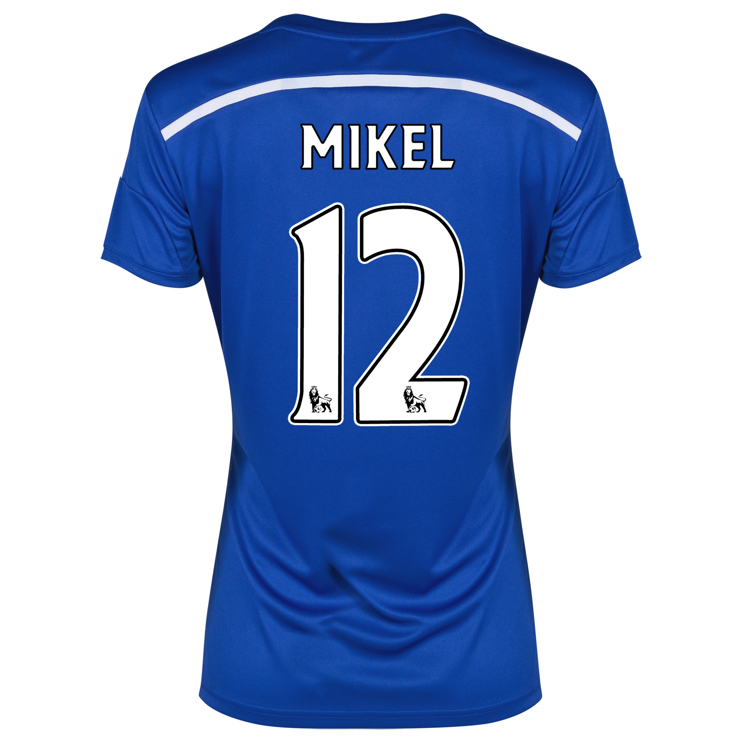 Chelsea Home Shirt 2014/15 - Womens Blue with Mikel 12 printing