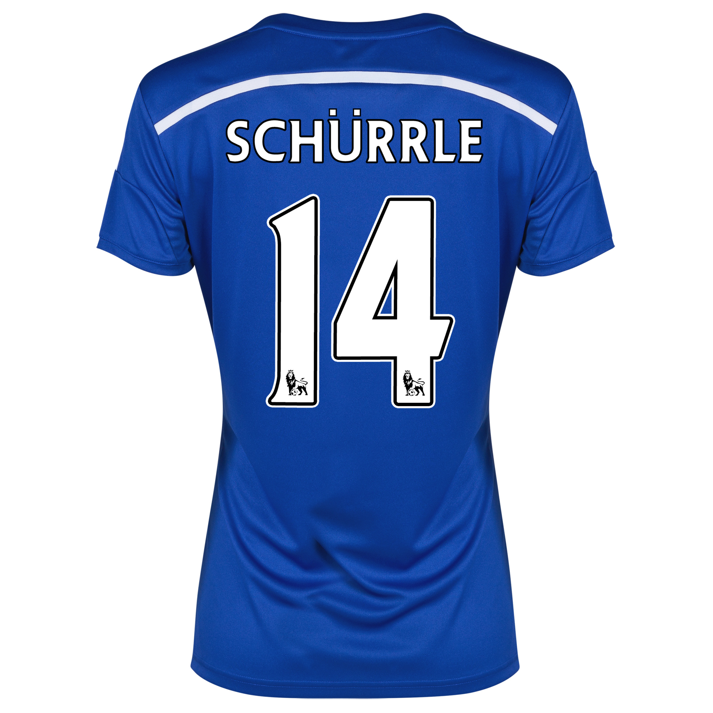 Chelsea Home Shirt 2014/15 - Womens Blue with Schurrle 14 printing