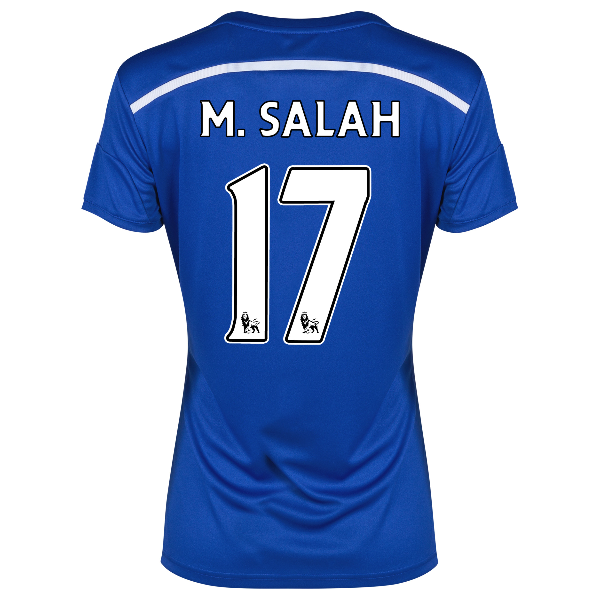 Chelsea Home Shirt 2014/15 - Womens Blue with M. Salah 17 printing