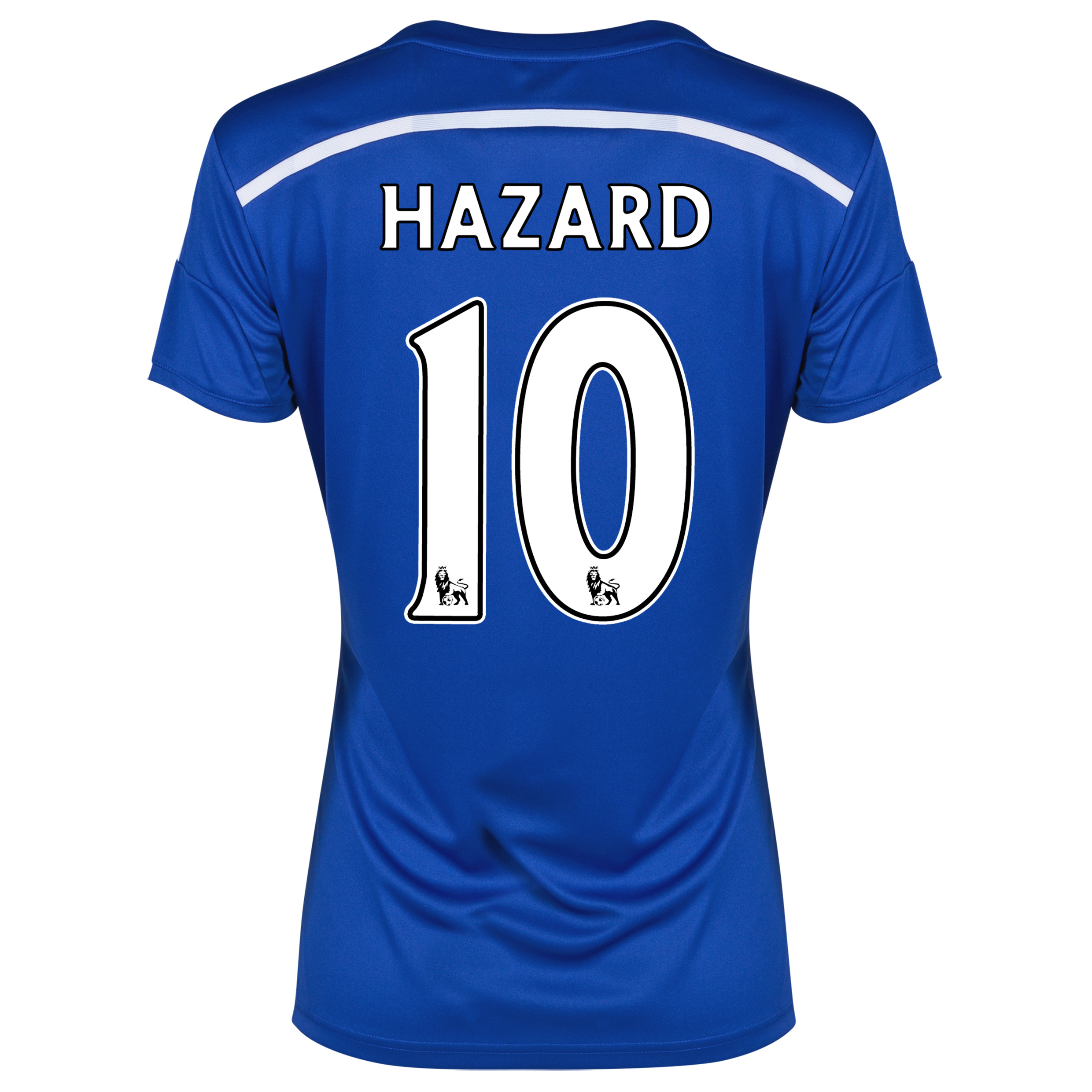 Chelsea Home Shirt 2014/15 - Womens Blue with Hazard 17 printing