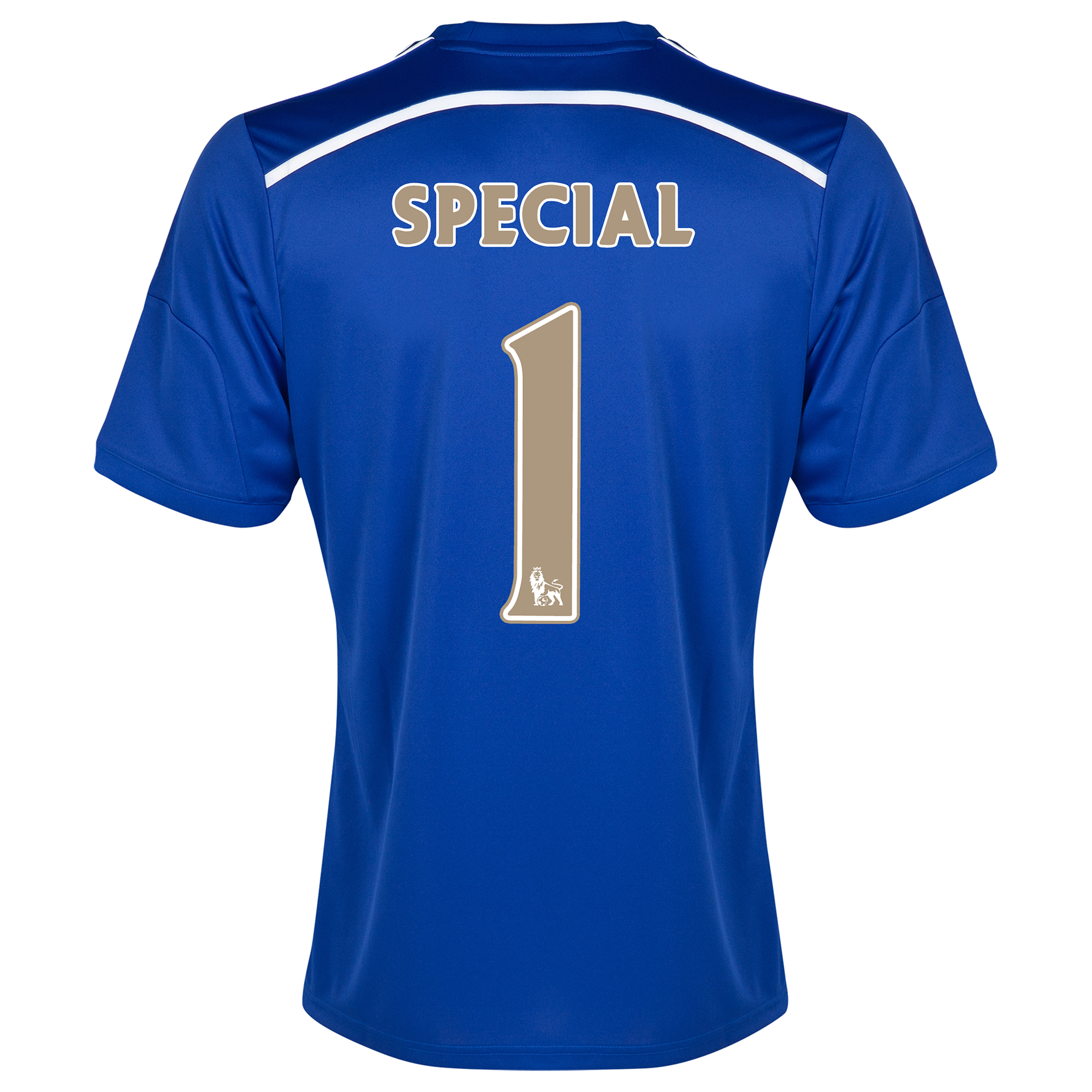 Chelsea Home Shirt 2014/15 - Outsize Blue with Special 1 printing