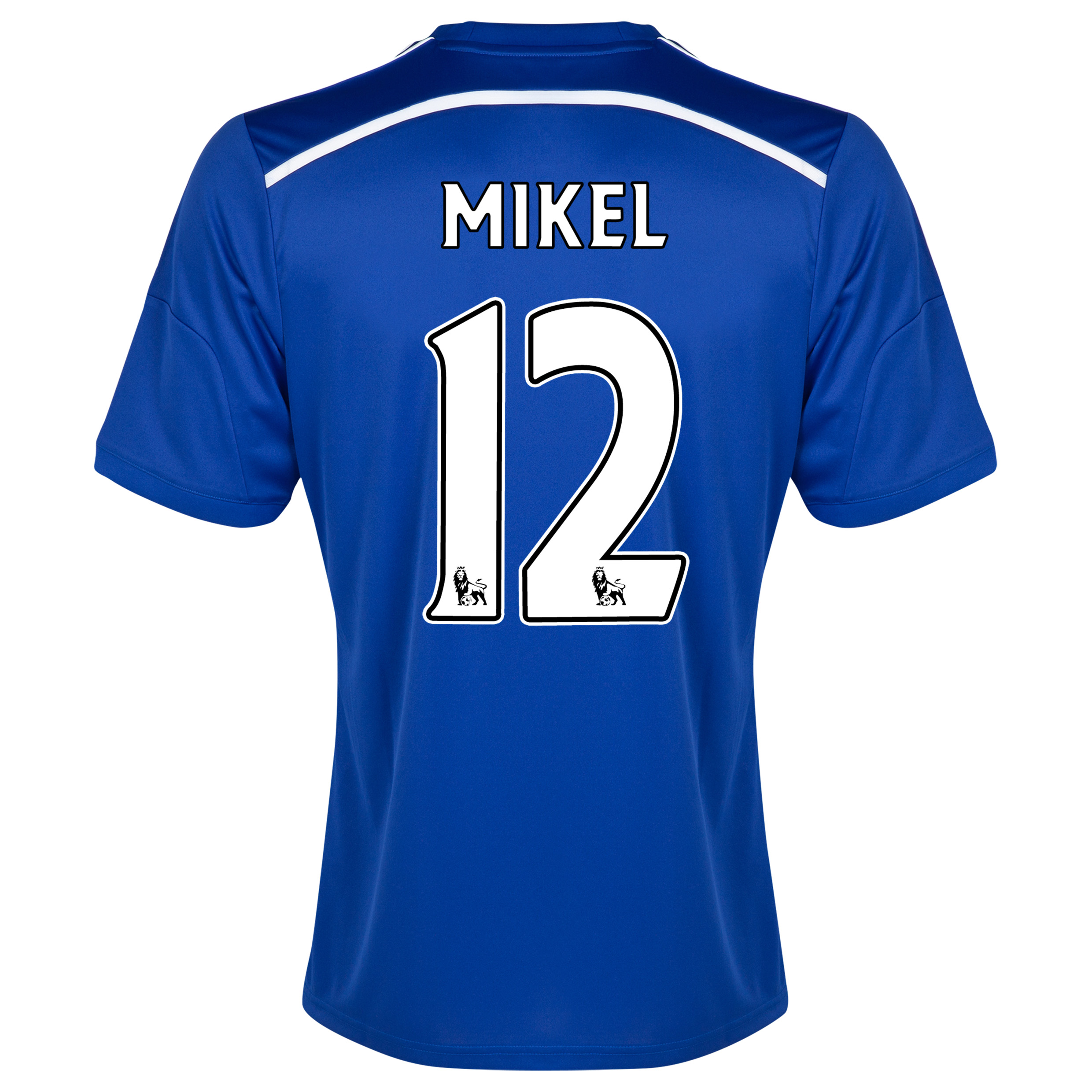 Chelsea Home Shirt 2014/15 - Outsize Blue with Mikel 12 printing