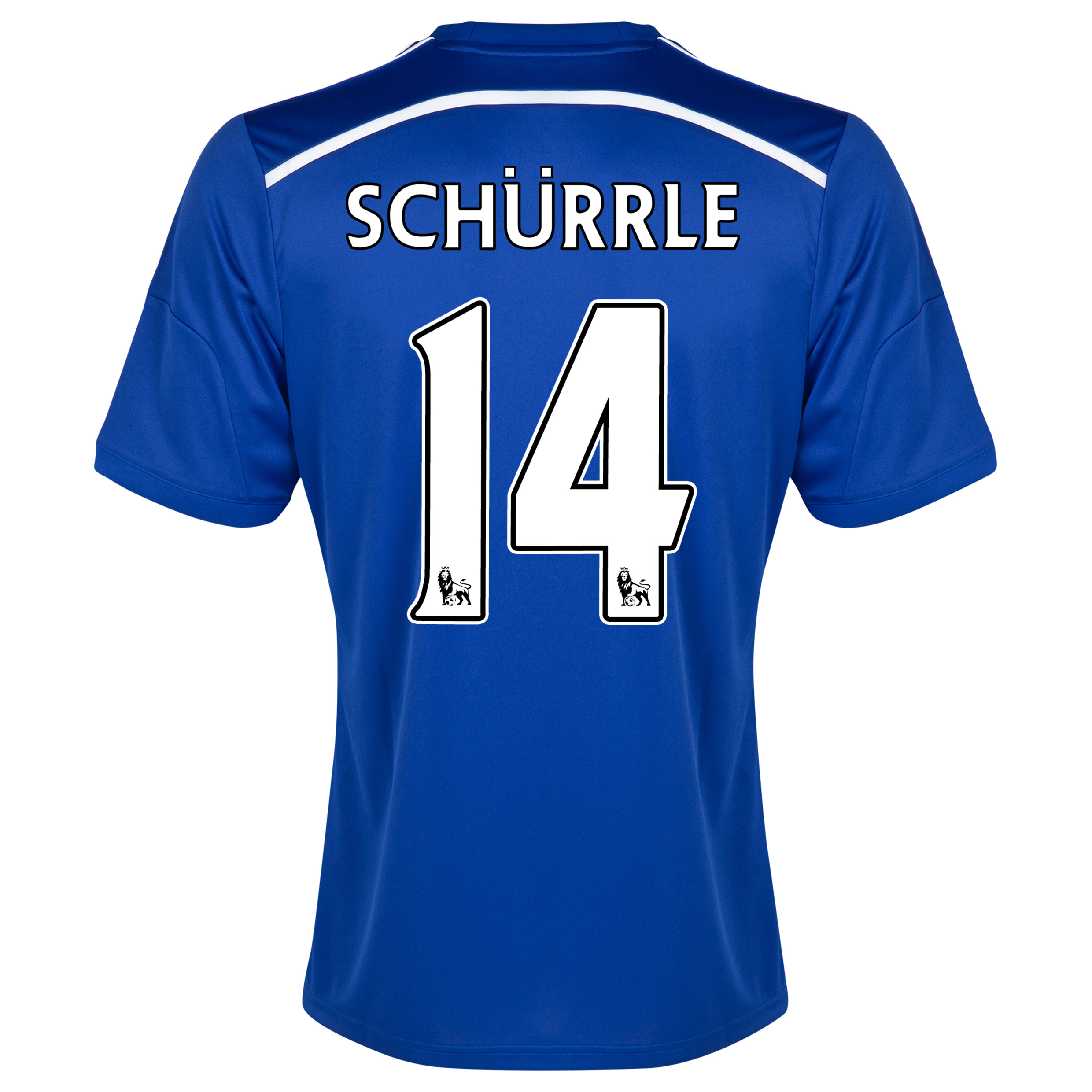Chelsea Home Shirt 2014/15 - Outsize Blue with Schurrle 14 printing