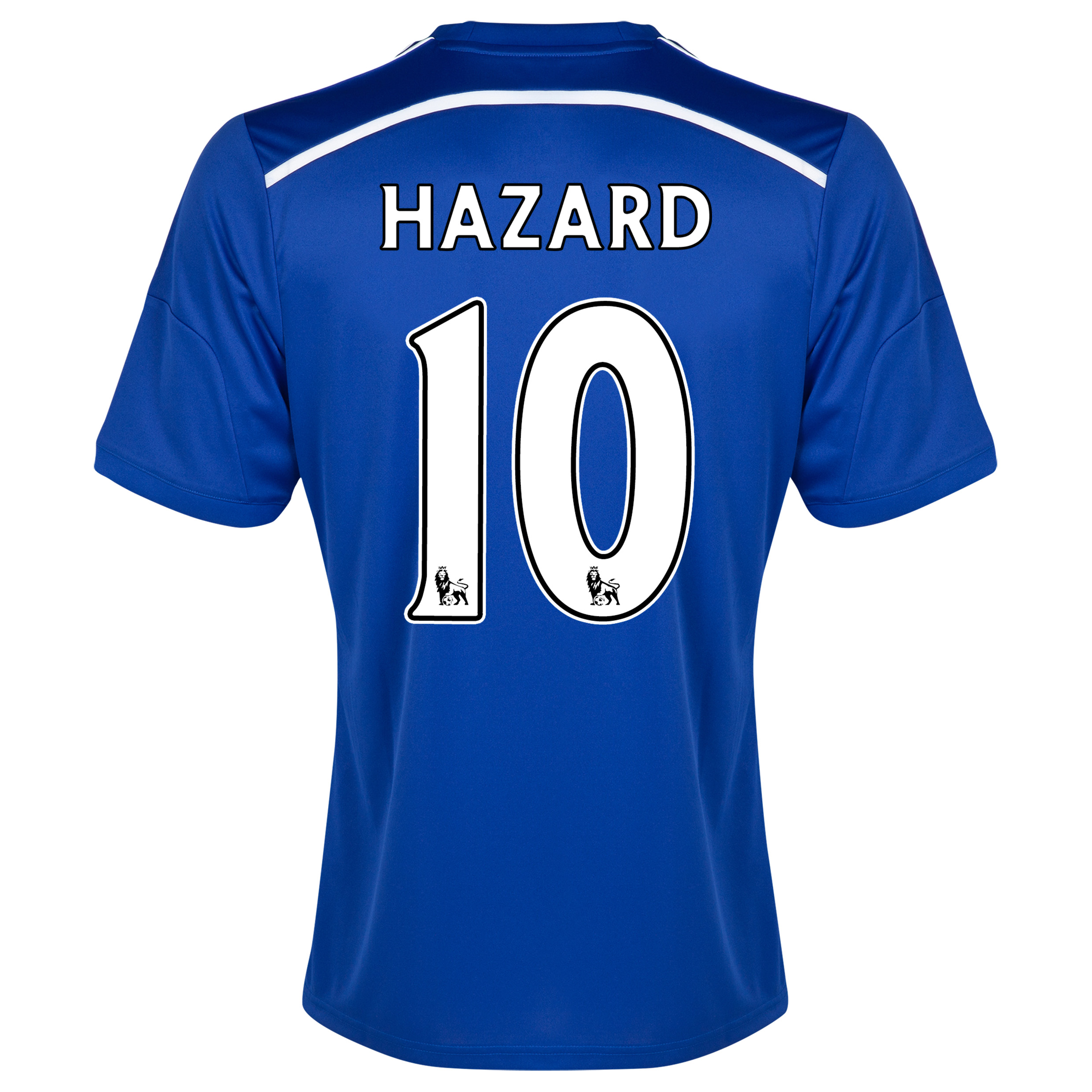Chelsea Home Shirt 2014/15 - Outsize Blue with Hazard 10 printing