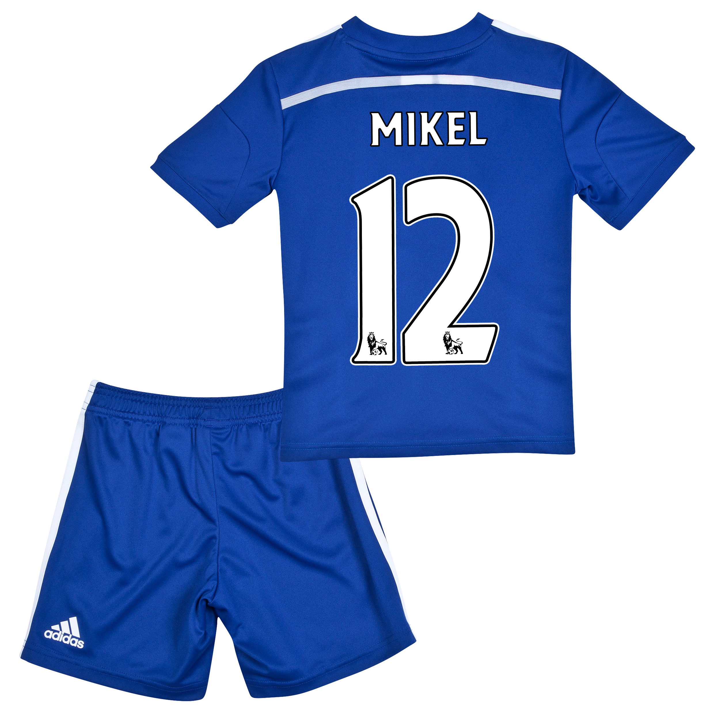 Chelsea Home Mini Kit 2014/15 Blue with Mikel 12 printing