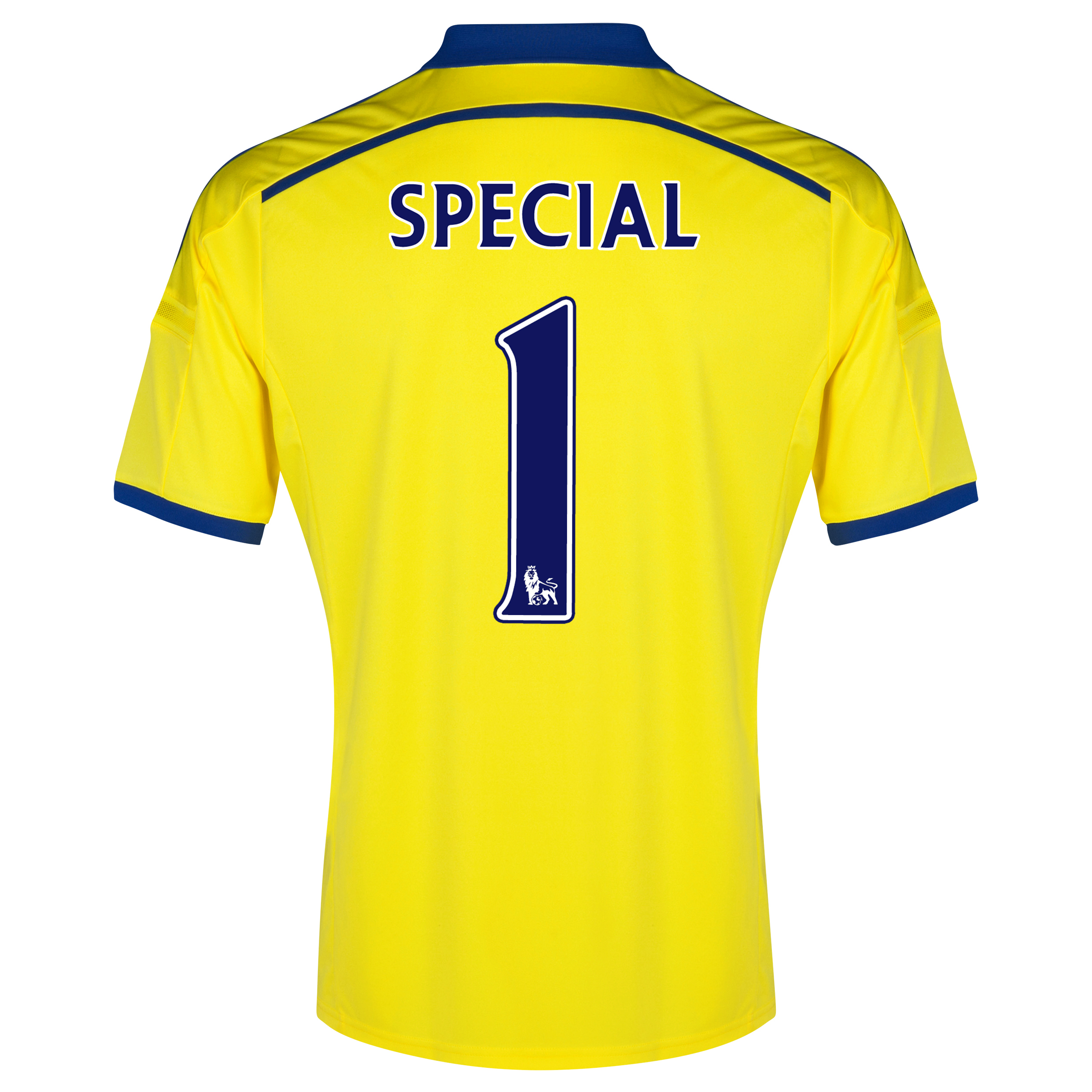 Chelsea Away Shirt 2014/15 - Kids Yellow with Special 1 printing