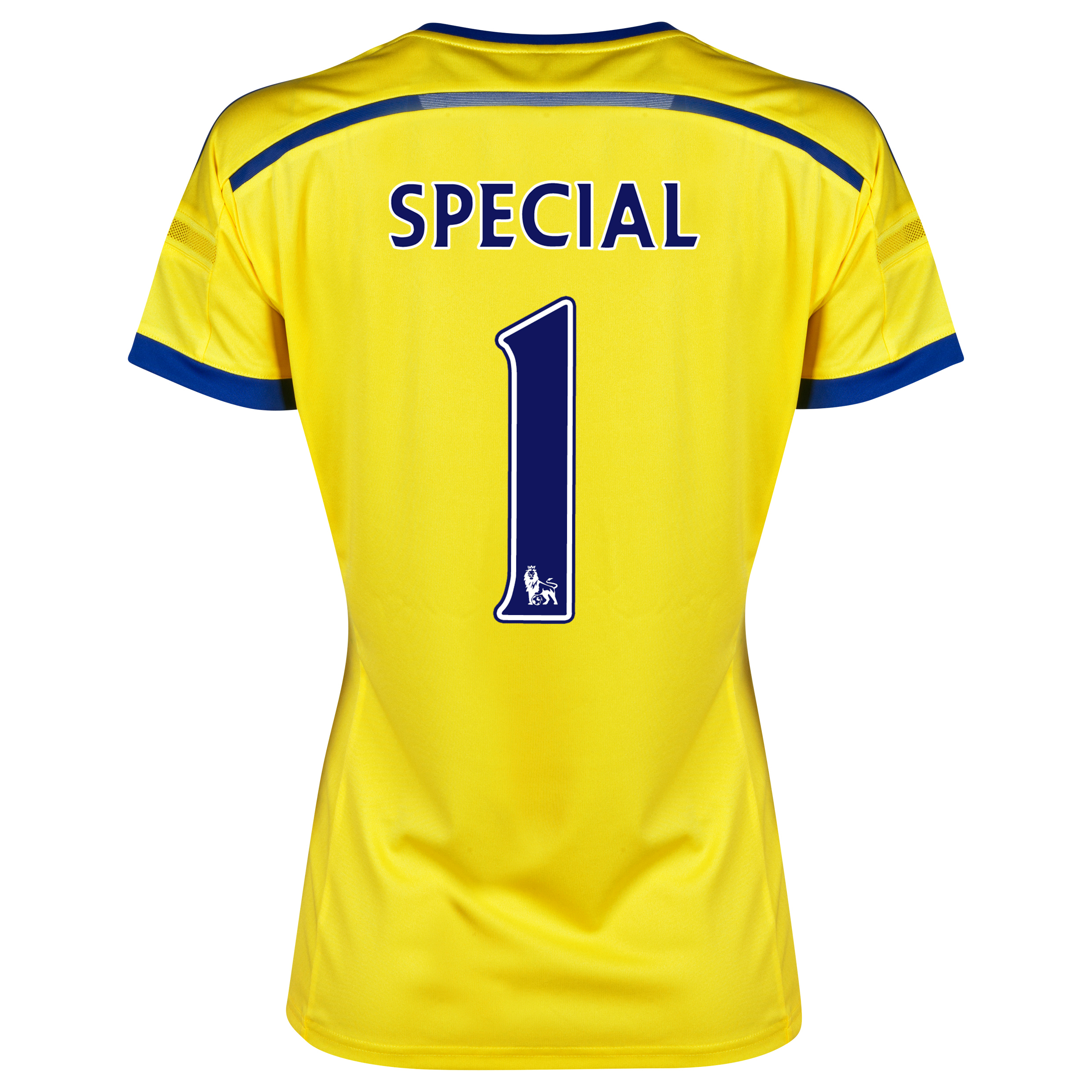 Chelsea Away Shirt 2014/15 - Womens Yellow with Special 1 printing