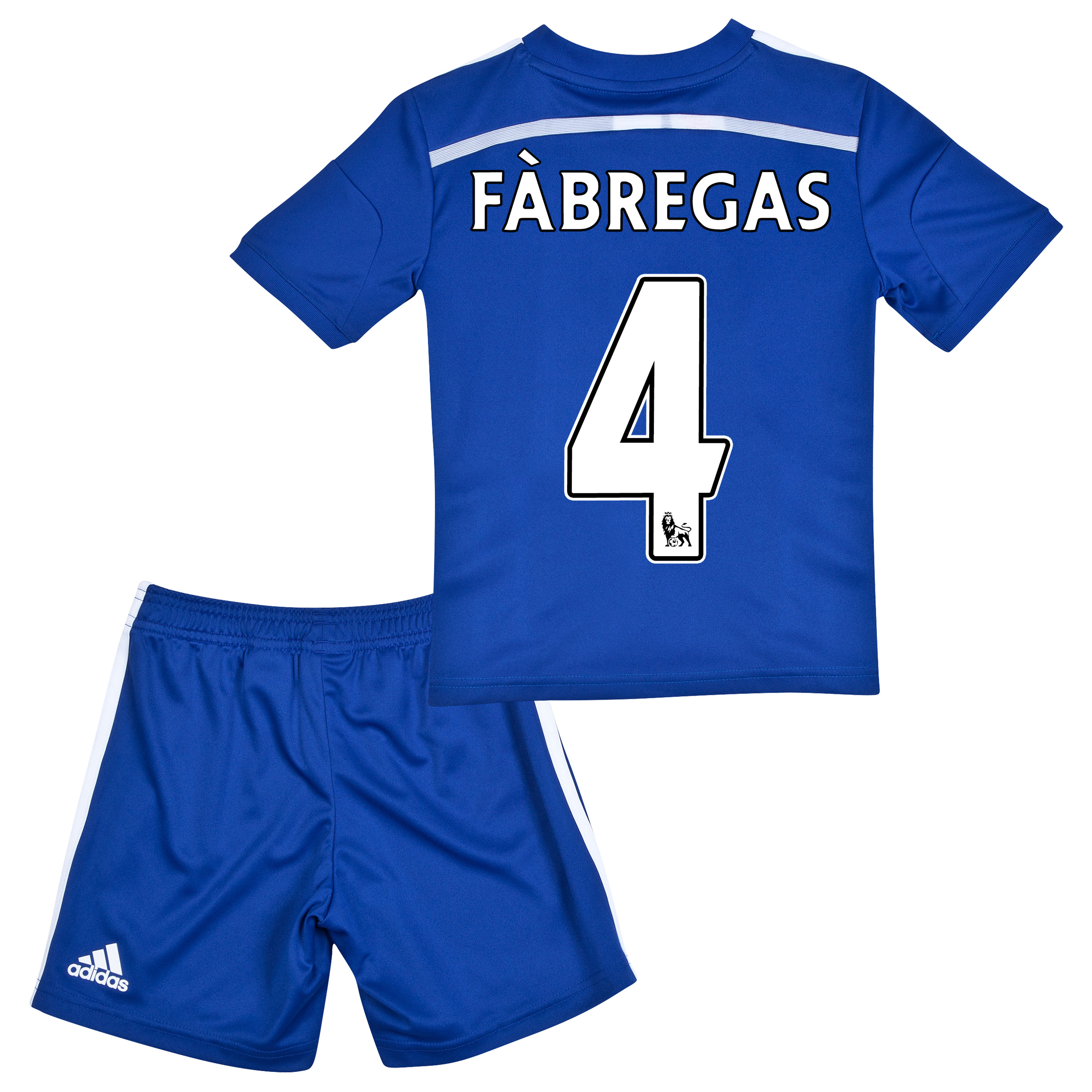 Chelsea Home Mini Kit 2014/15 Blue with Fàbregas 4 printing