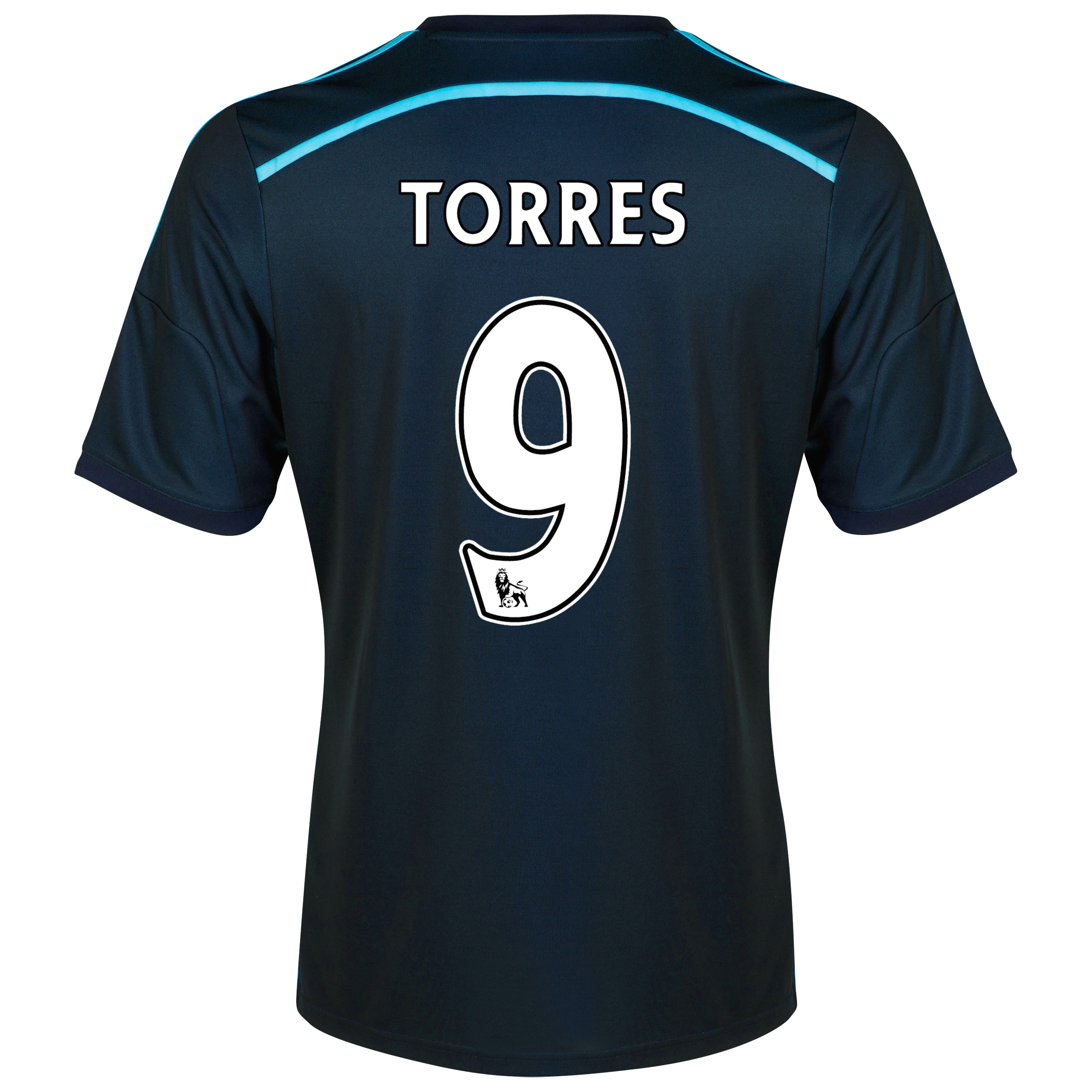 Chelsea Third Shirt 2014/15 with Torres 9 printing